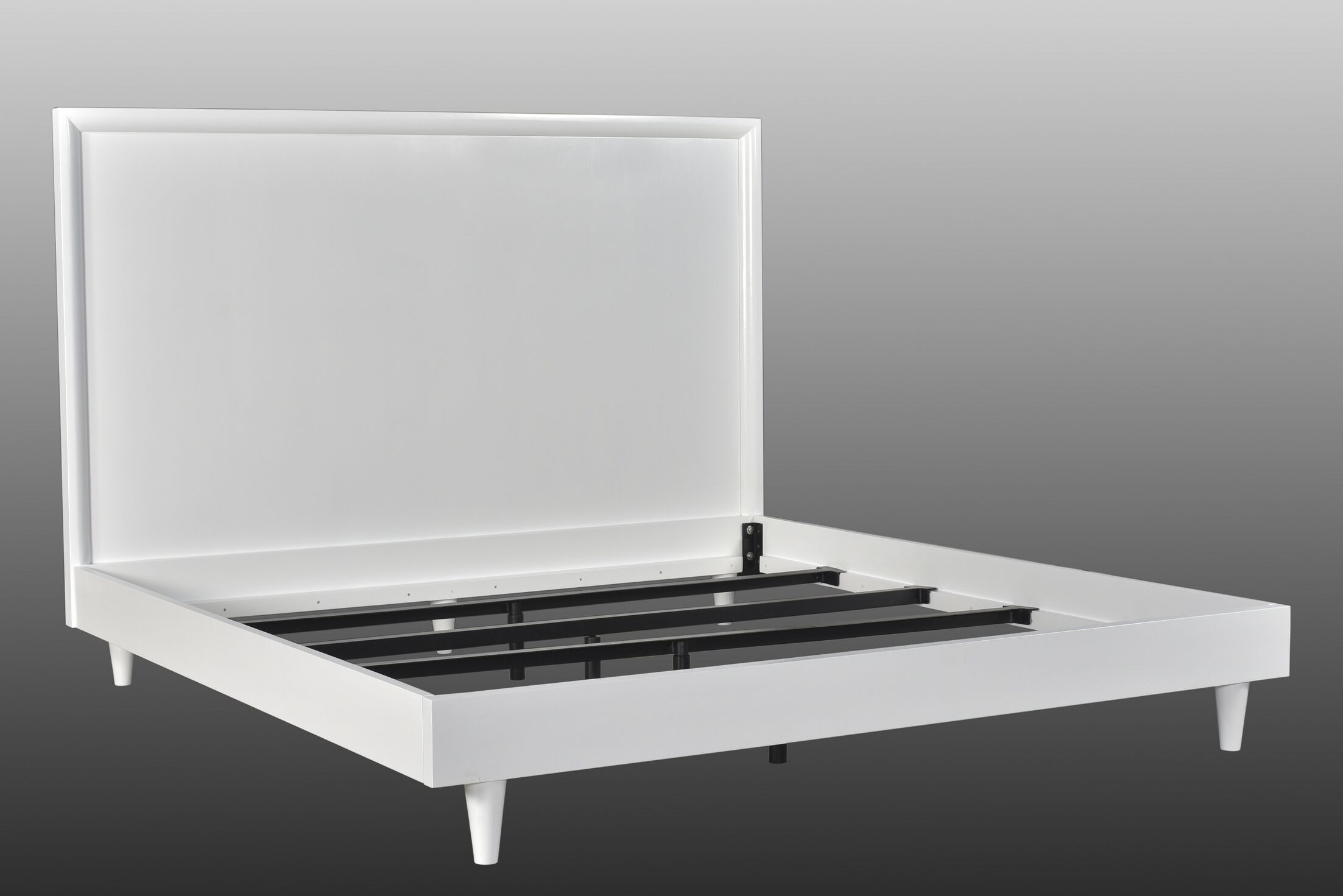 Rocco Contemporary Panel Bed Size: King