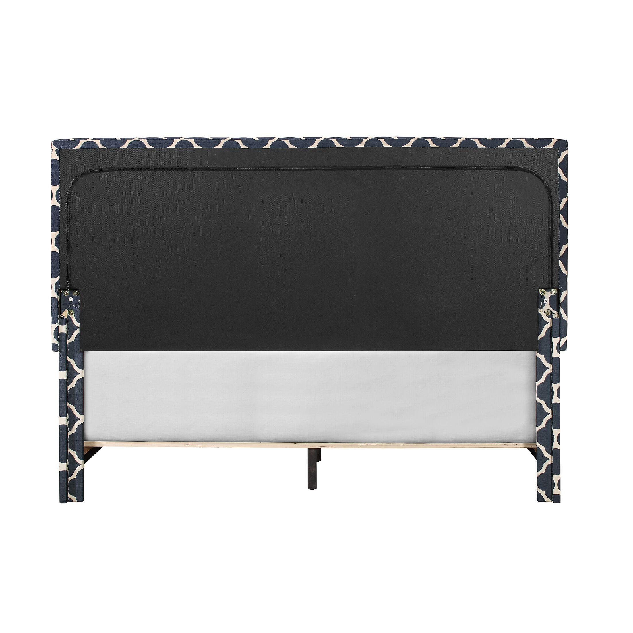 Crichton Upholstered Panel Bed Size: King