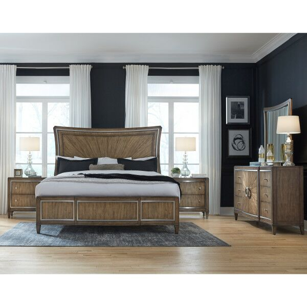 Newt Panel Bed Size: King