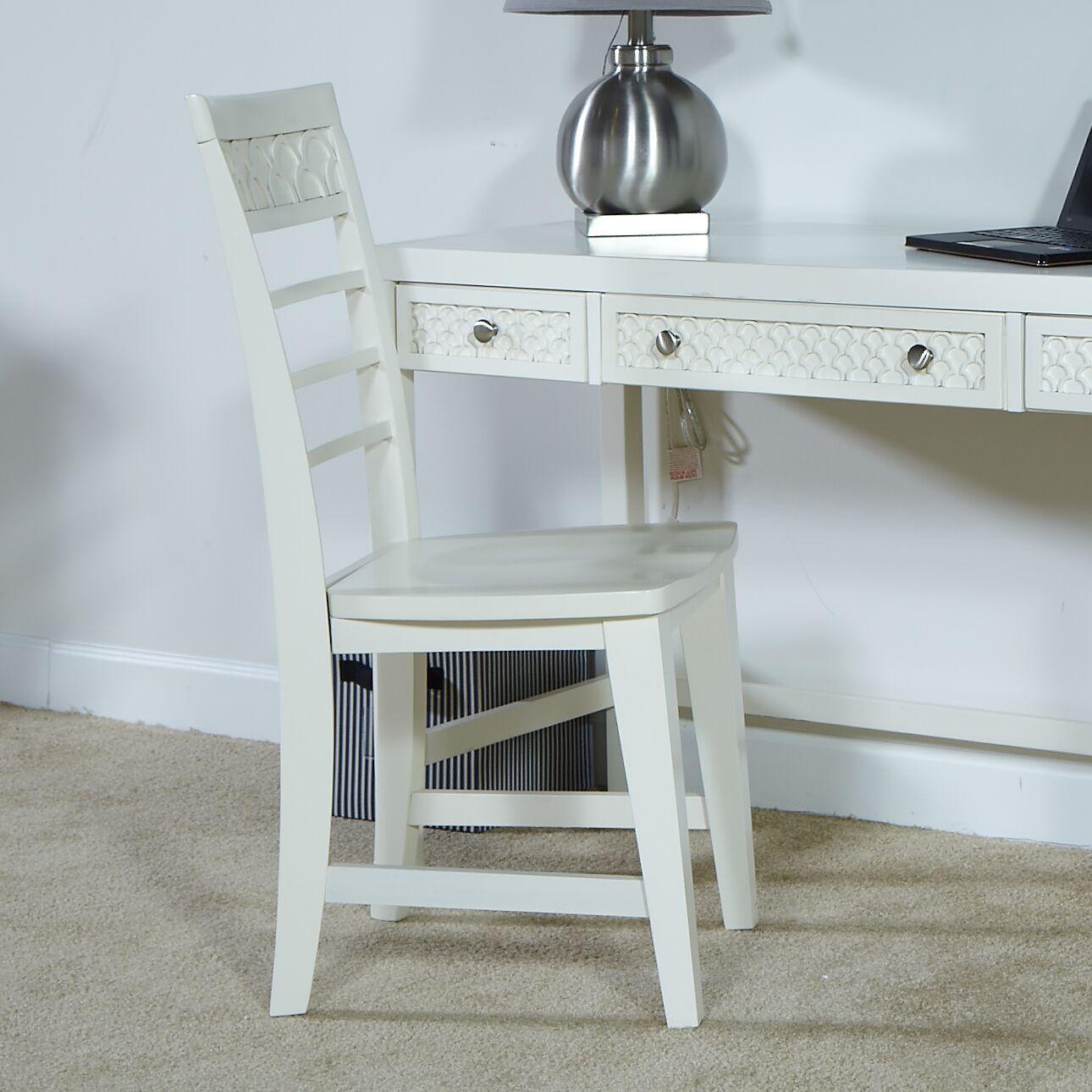 Amanda Side Chair Finish: Bright White
