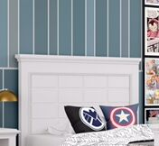 Inwood Raised Panel Headboard Size: Queen, Color: Willliamsburg Blue