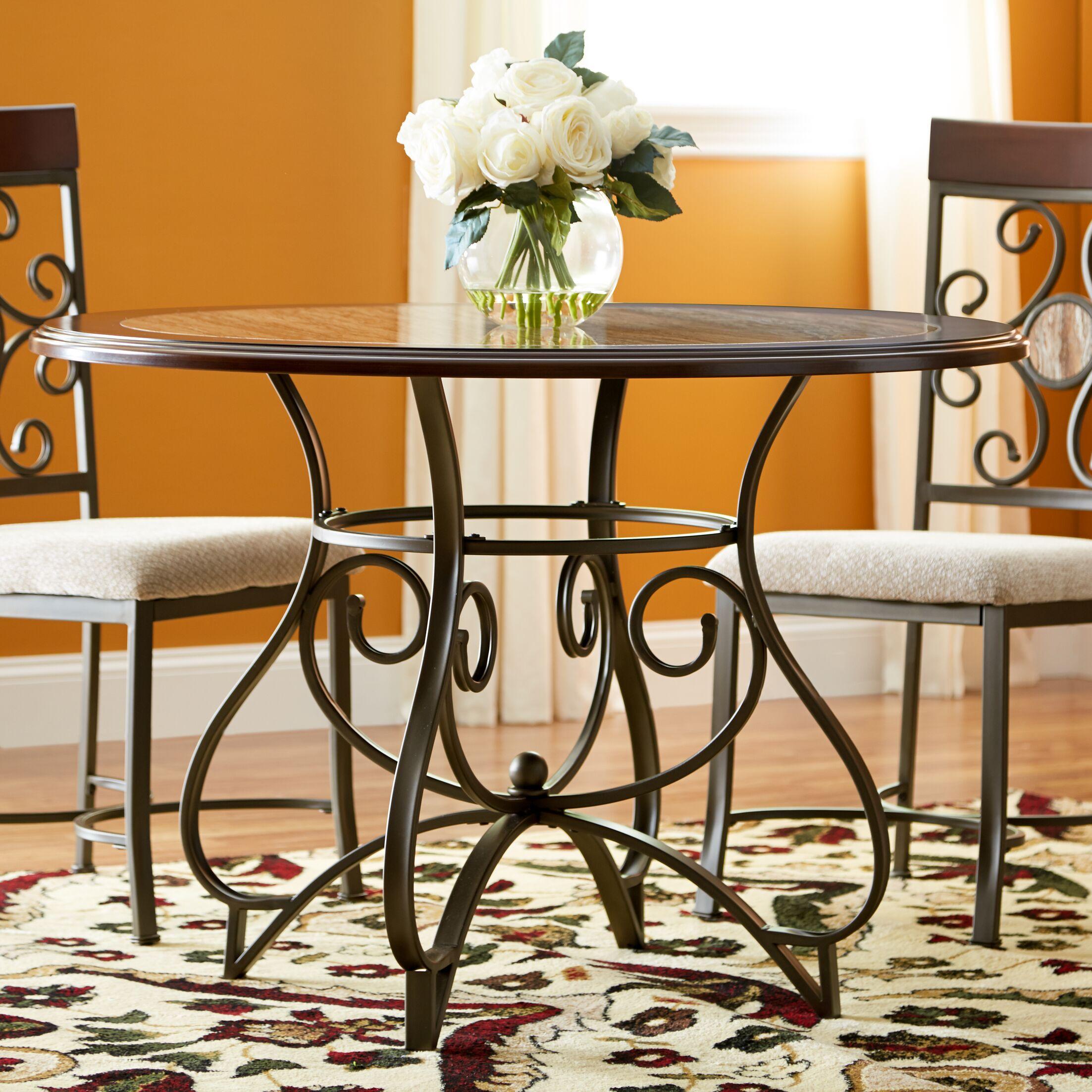Corinne Metal Dining Table