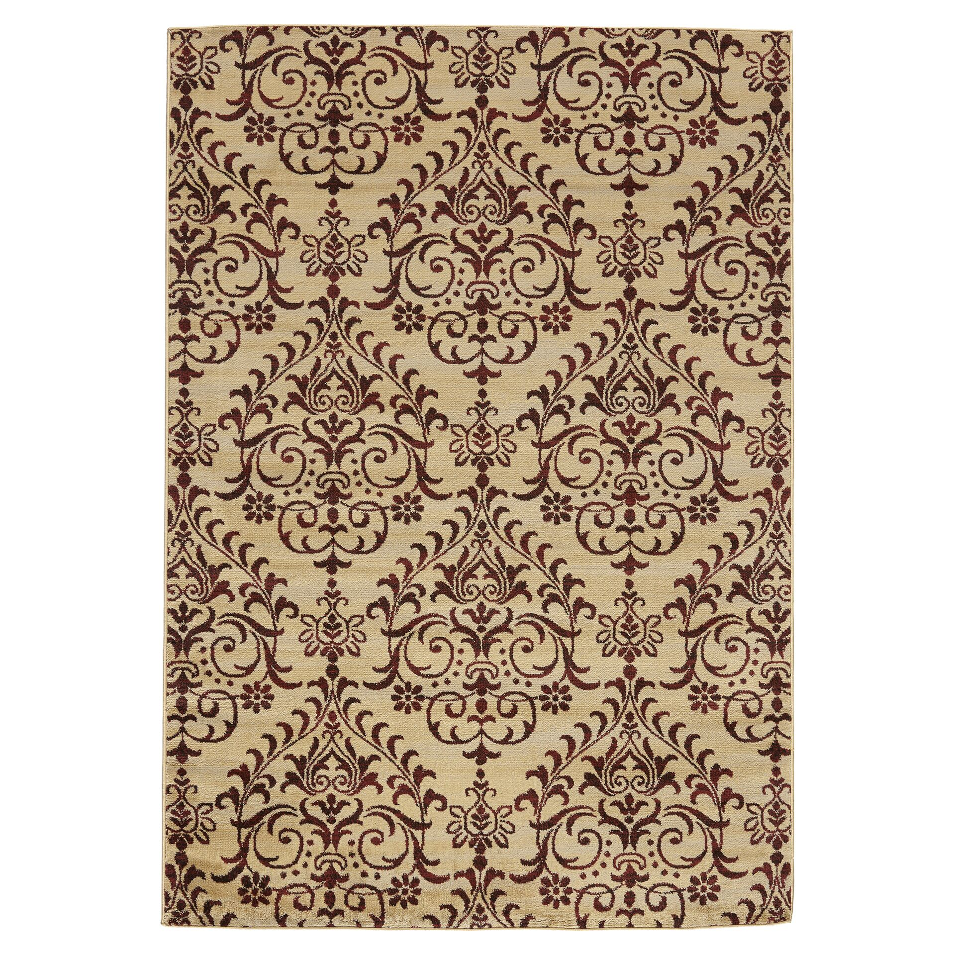 Lakeshore Brown Area Rug Rug Size: Rectangle 7'10