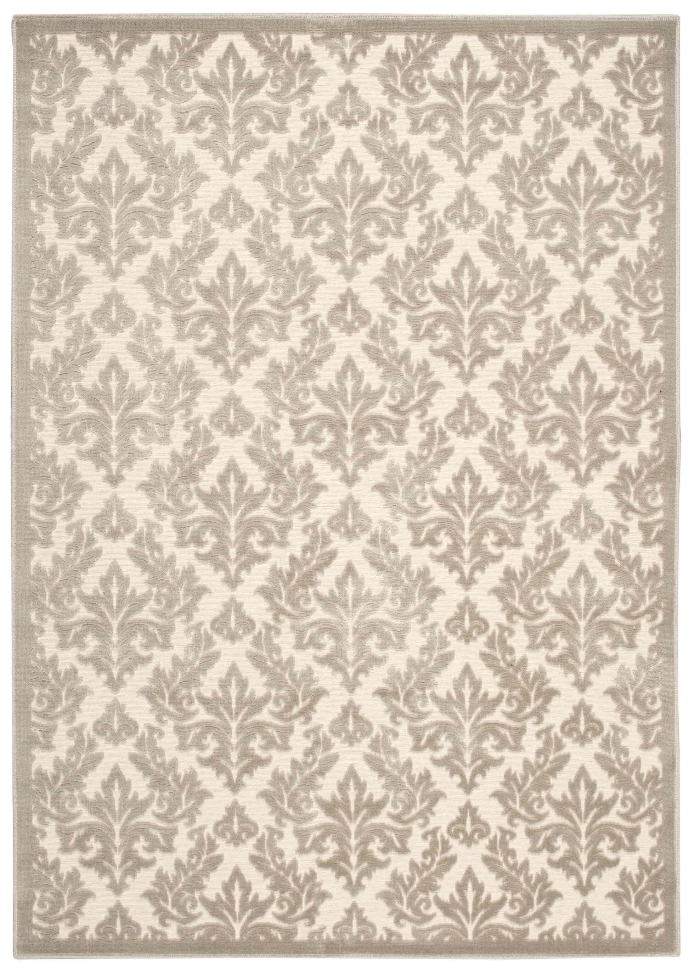Weissport Ivory Area Rug Rug Size: Rectangle 7'9
