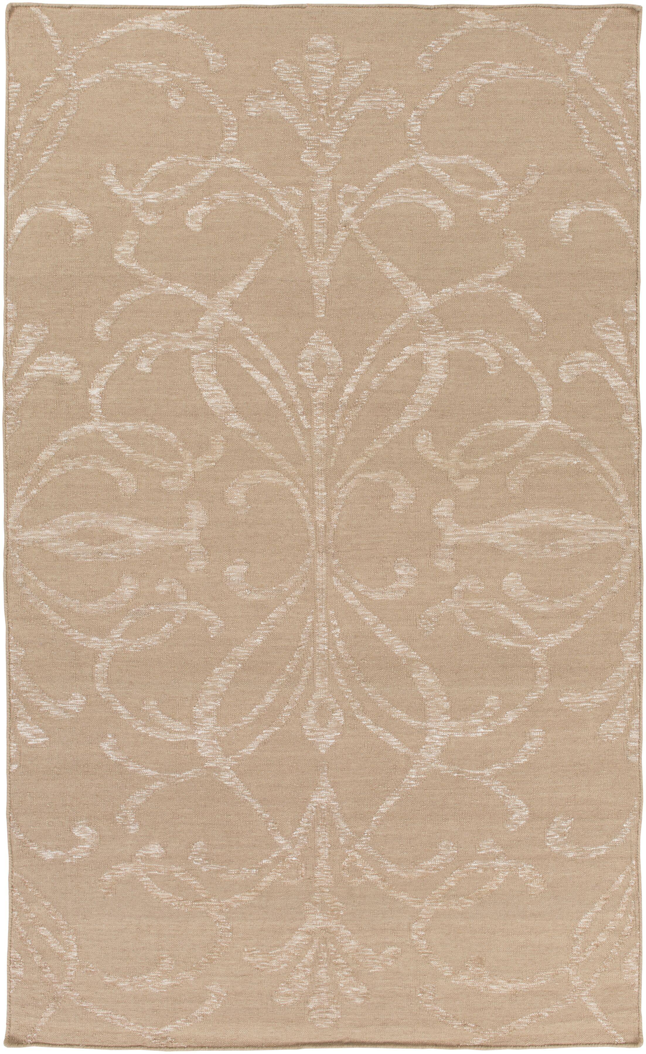 Delavan Hand Woven Beige Area Rug Rug Size: Rectangle 9' x 13'