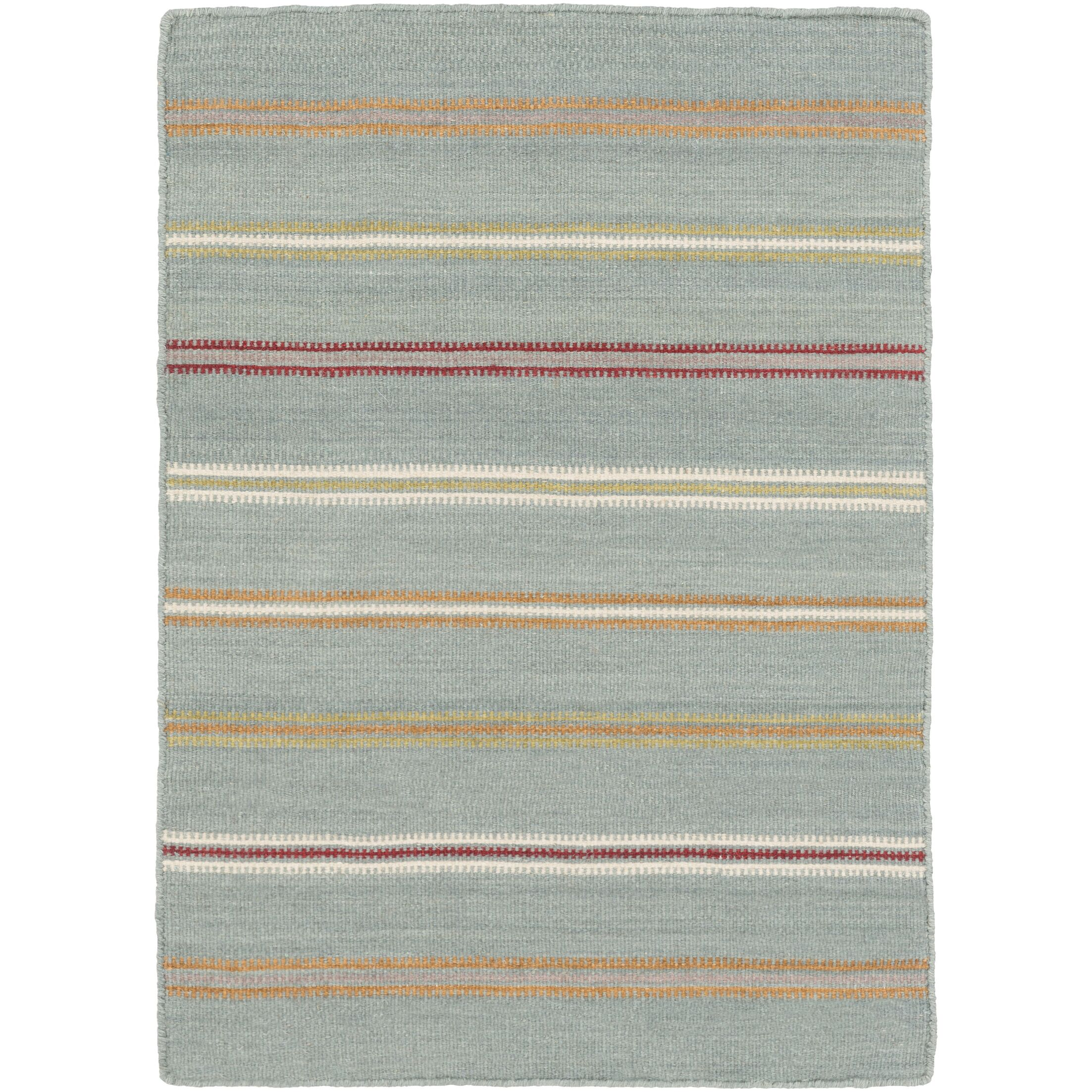 Rachel Hand Woven Gray Area Rug Rug Size: Rectangle 6' x 9'