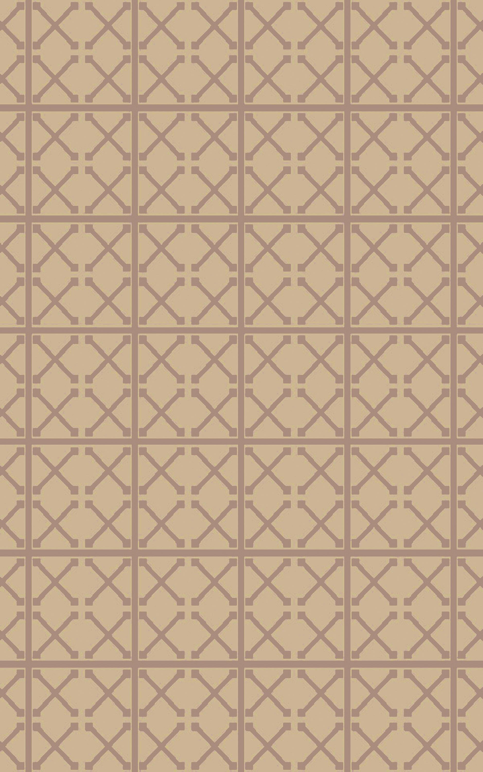 Donaghy Hand-Woven Beige/Mauve Area Rug Rug Size: Rectangle 8' x 10'