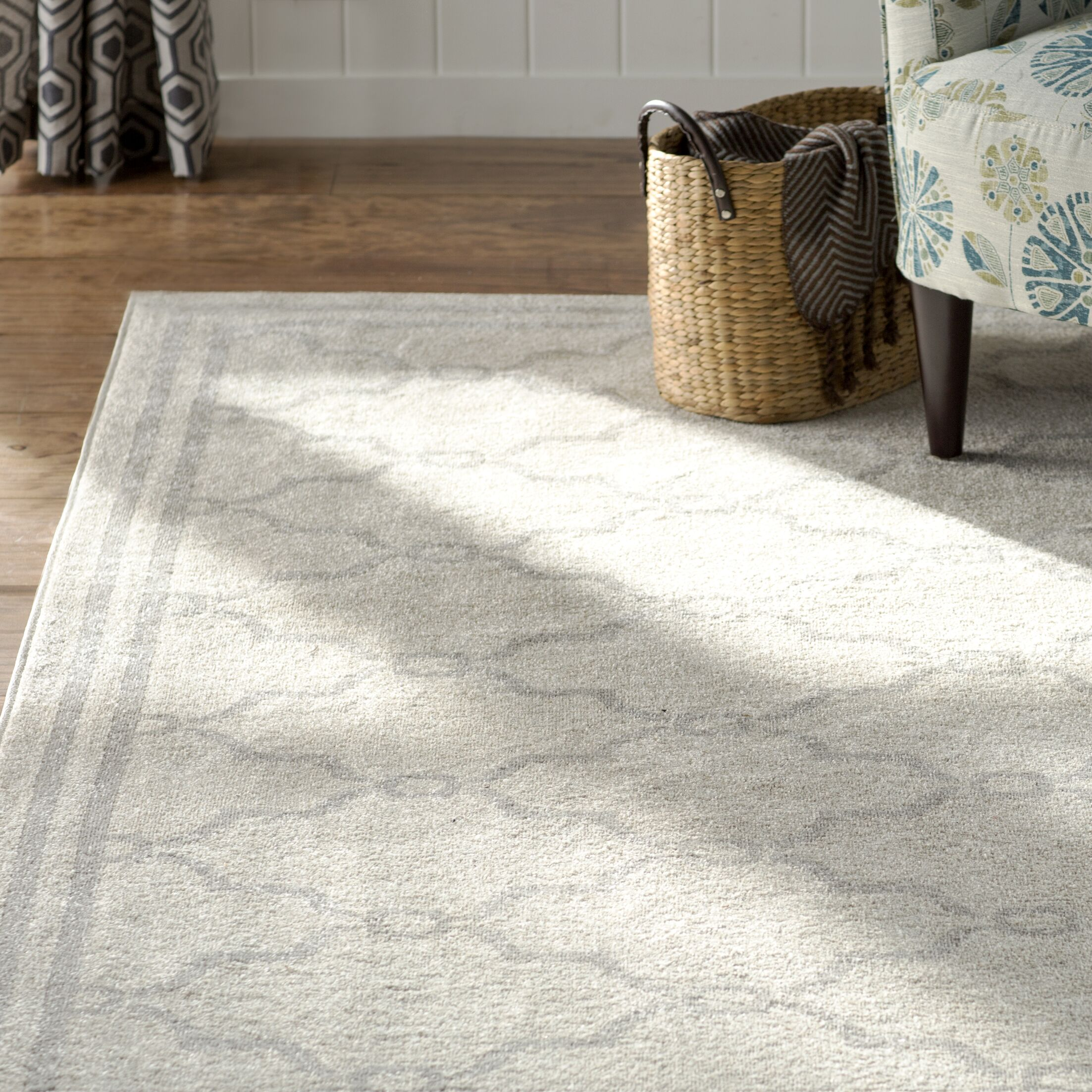 Mckamey Ivory Indoor/Outdoor Area Rug Rug Size: 11' x 16'