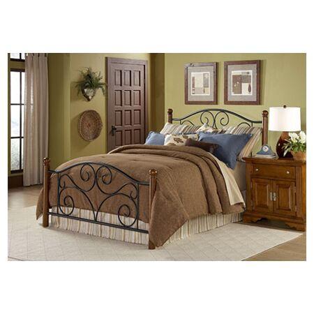 Mckinsey Panel Bed Size: California King