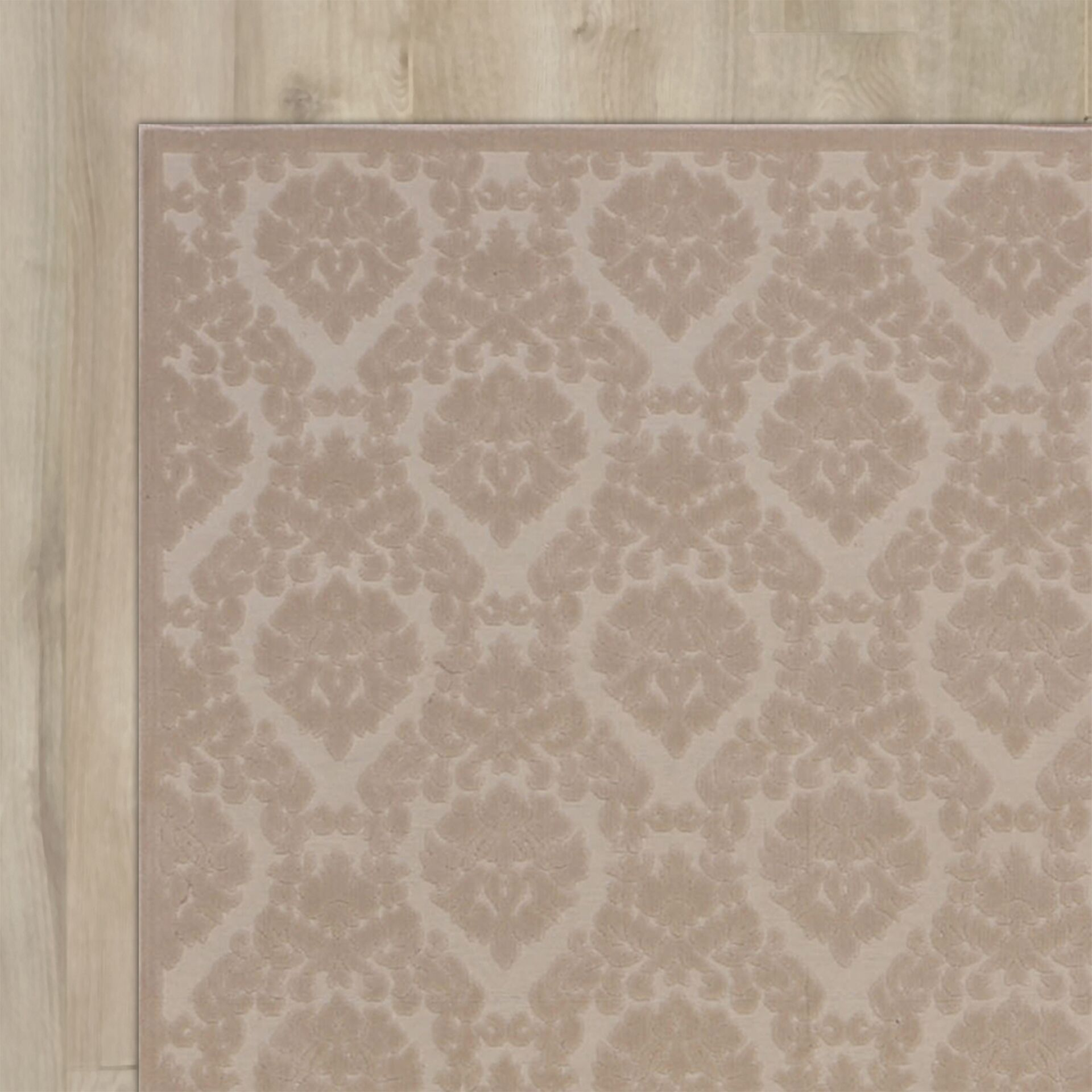 Weissport Ivory/Sand Area Rug Rug Size: Rectangle 7'9