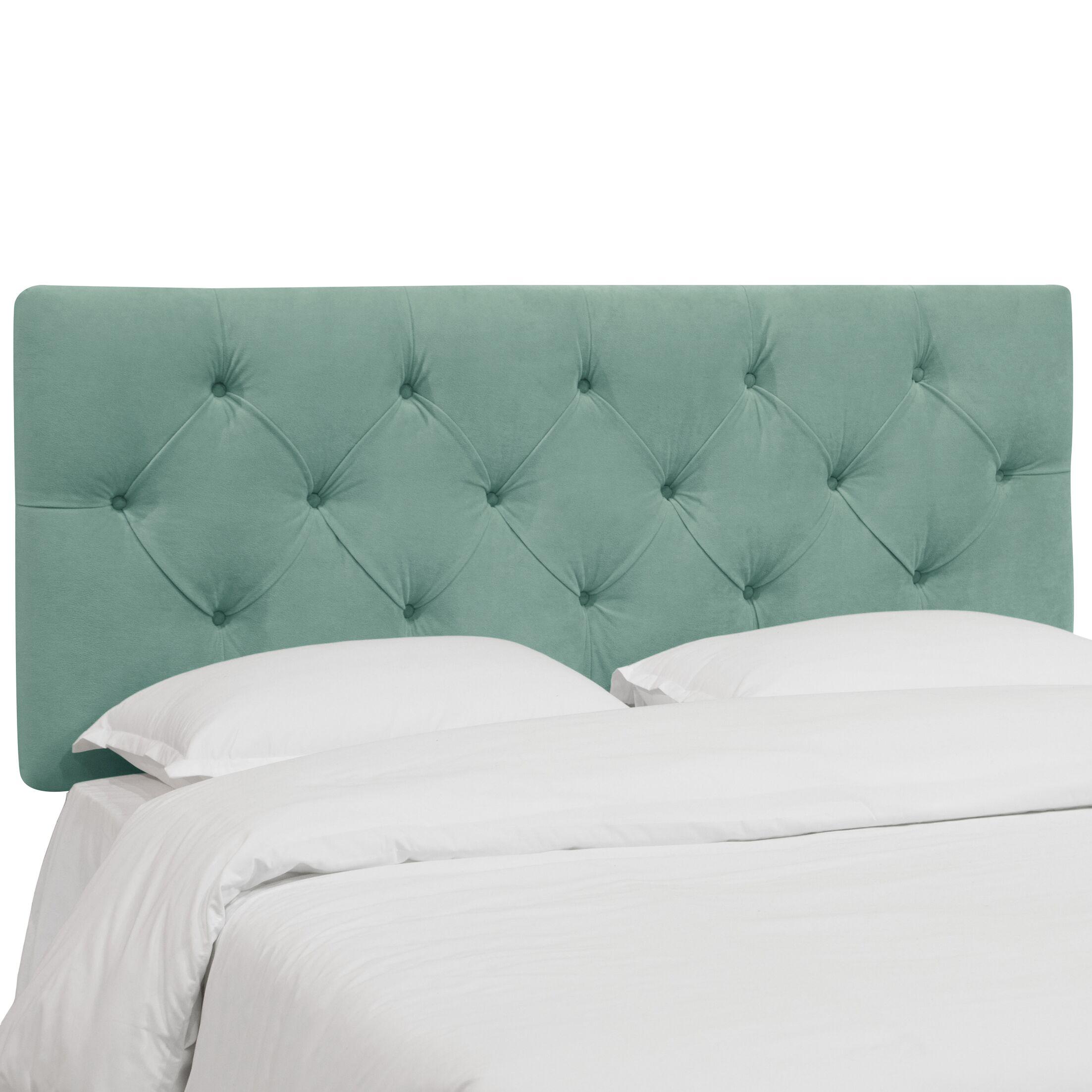 Plattekill Upholstered Panel Headboard Size: Queen, Upholstery: Caribbean