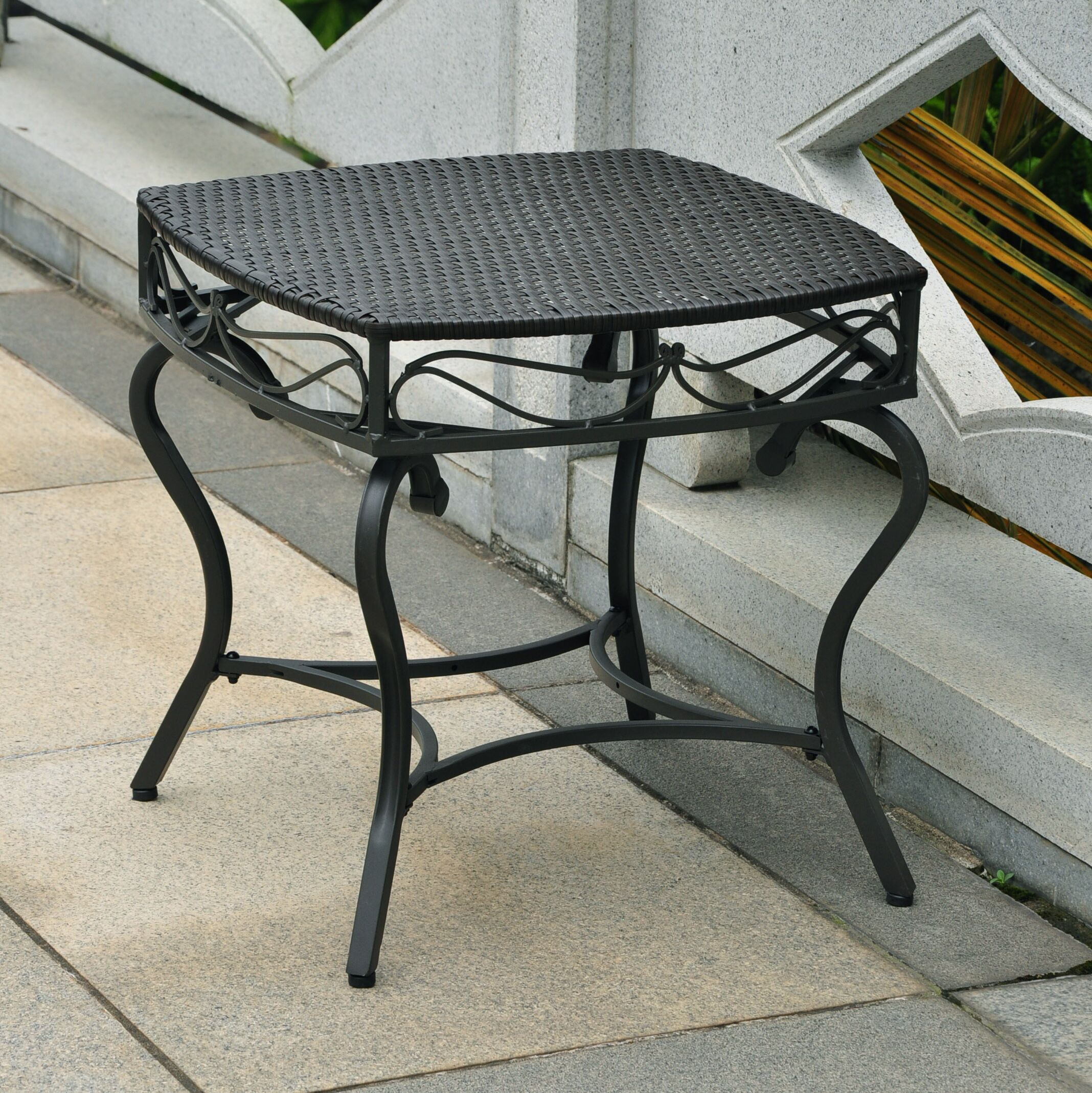 Meetinghouse Side Table Finish: Black Antique