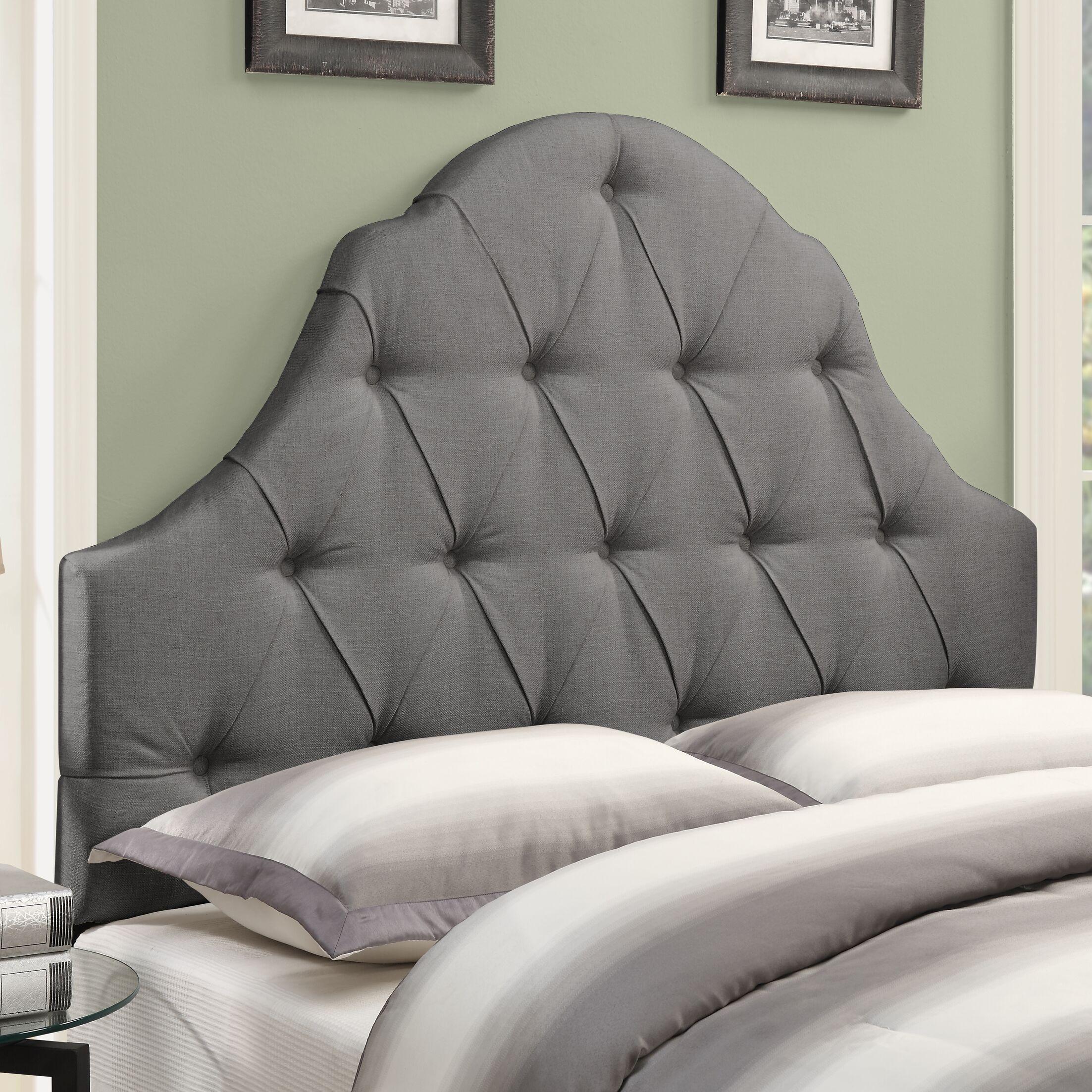 Redfield Upholstered Panel Headboard Size: King, Upholstery: Ash