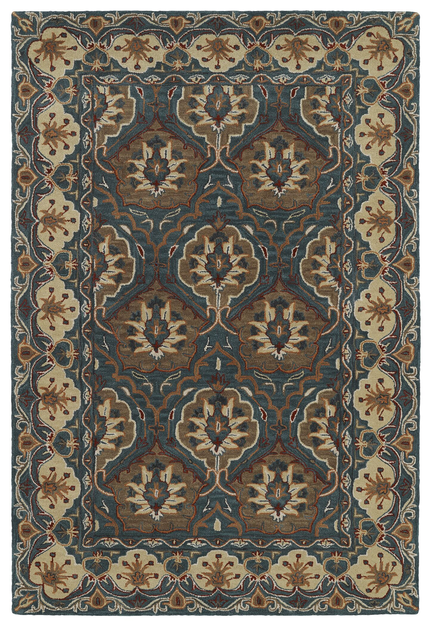 Curtiss Hand-Tufted Area Rug Rug Size: Rectangle 9' x 12'