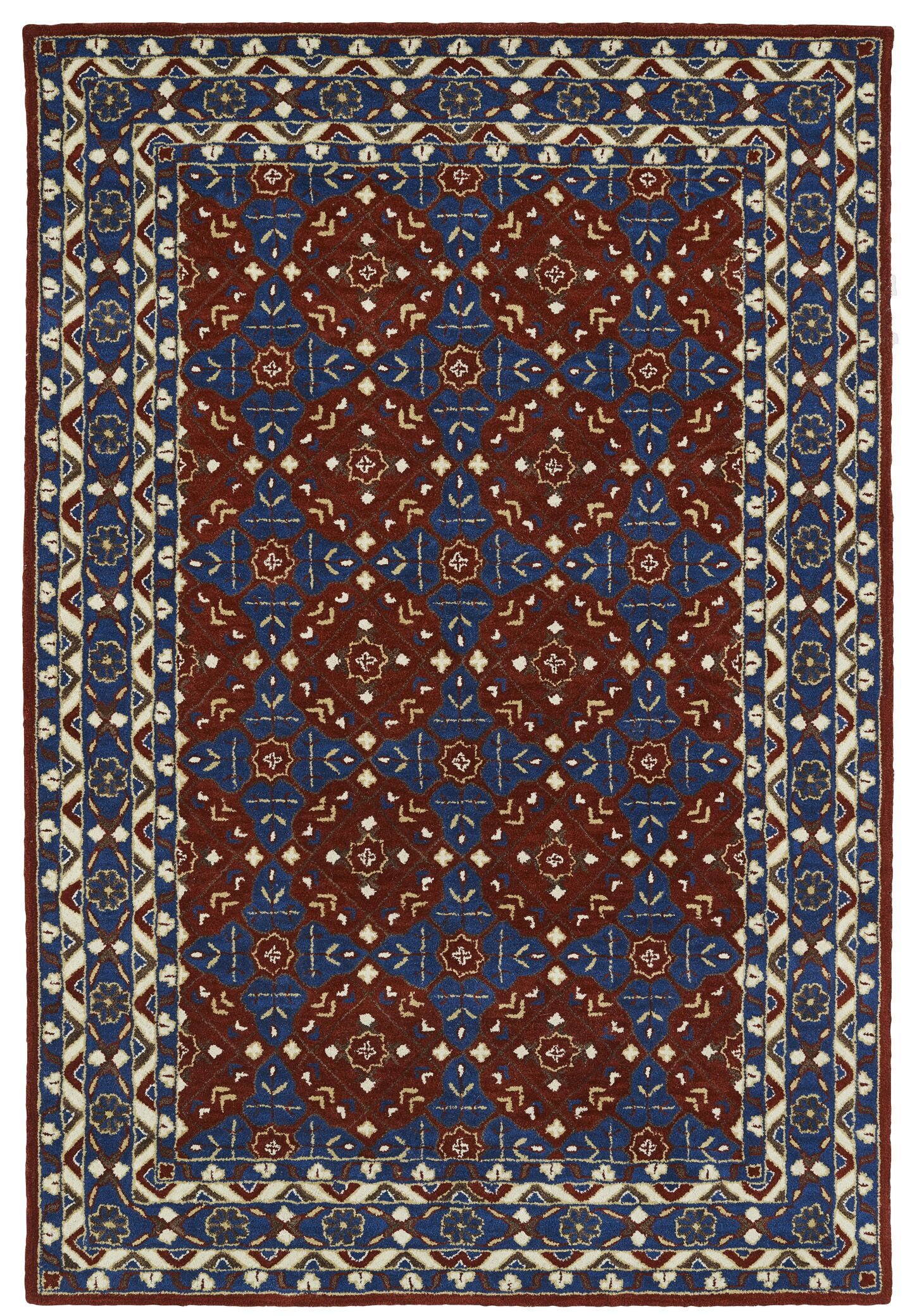 Curtiss Handmade Area Rug Rug Size: Rectangle 5' x 7'9