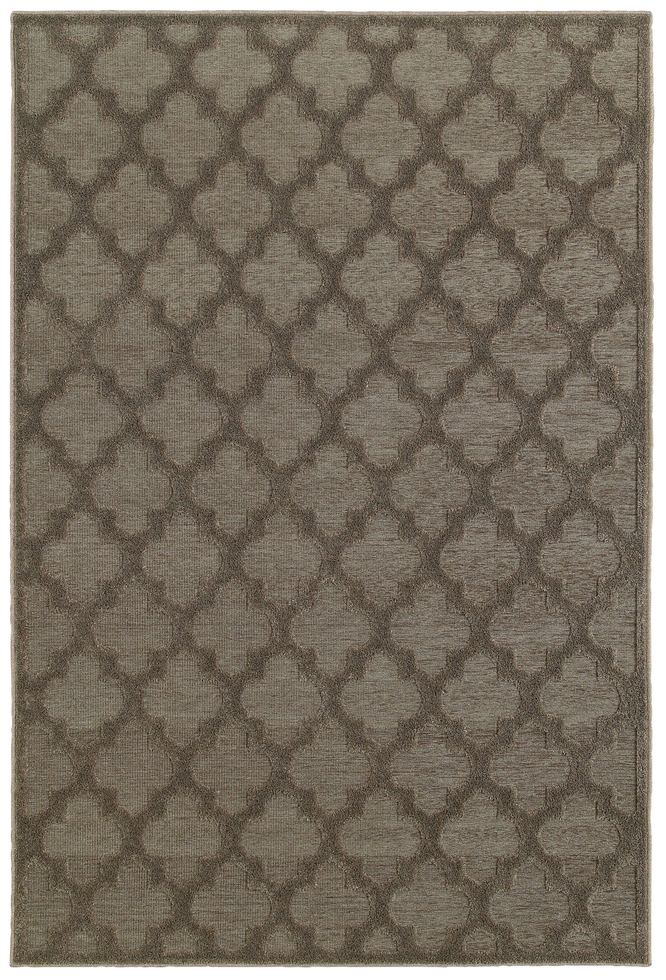 Lacon Brown Area Rug Rug Size: Rectangle 7'10