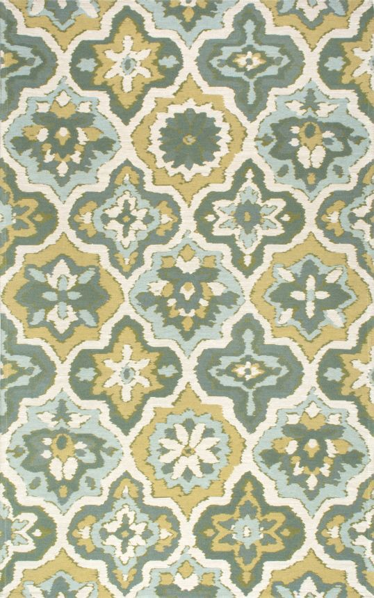 Bienville Green Area Rug Rug Size: Rectangle 8' x 10'