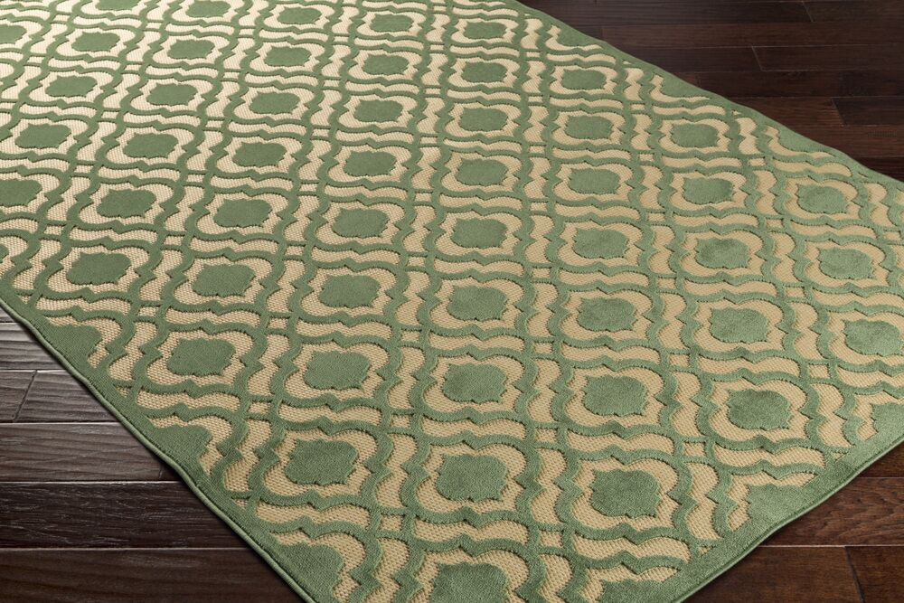 Countryman Geometric Indoor/Outdoor Area Rug Rug Size: Rectangle 3'9