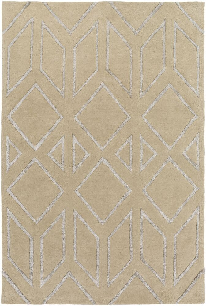 Baccus Beige Area Rug Rug Size: Rectangle 5' x 7'6