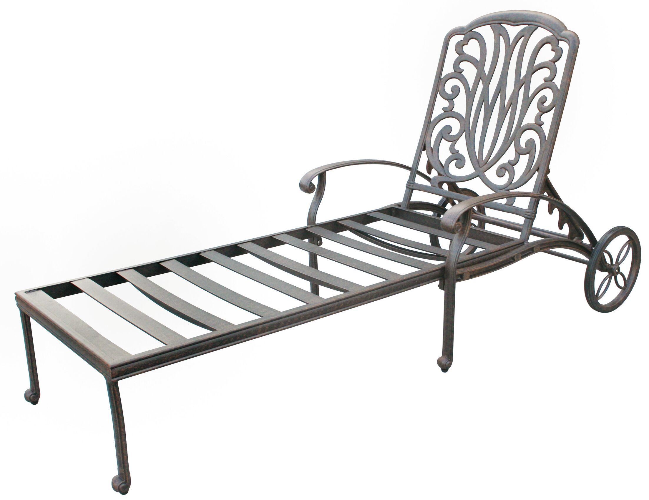 Lebanon Chaise Lounge with Cushion