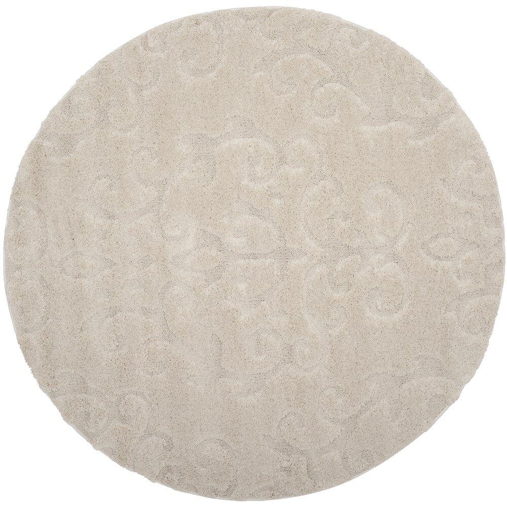 Diederich Geometric Beige Indoor Area Rug Rug Size: Rectangle 5'3