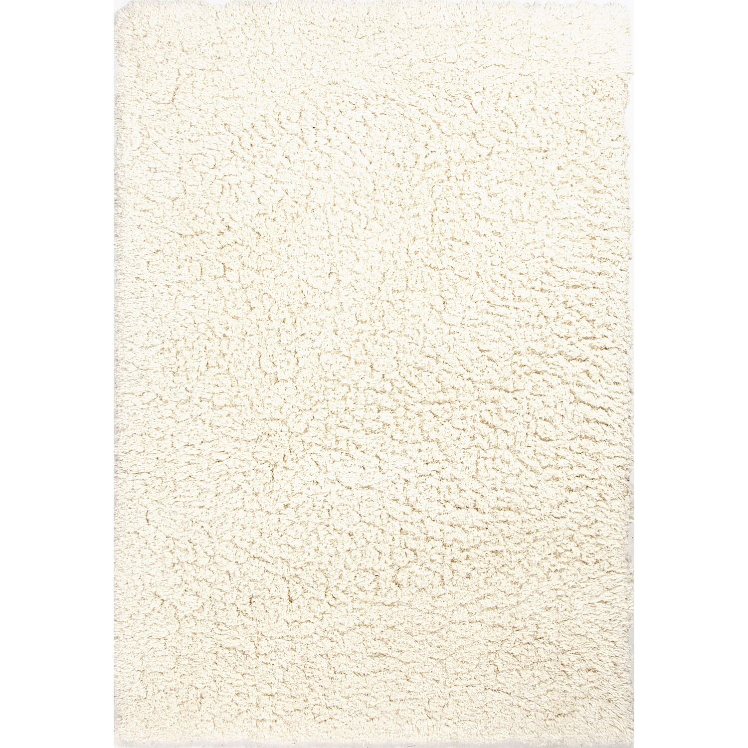 Beals Ivory & White Area Rug Rug Size: Rectangle 8' x 10'