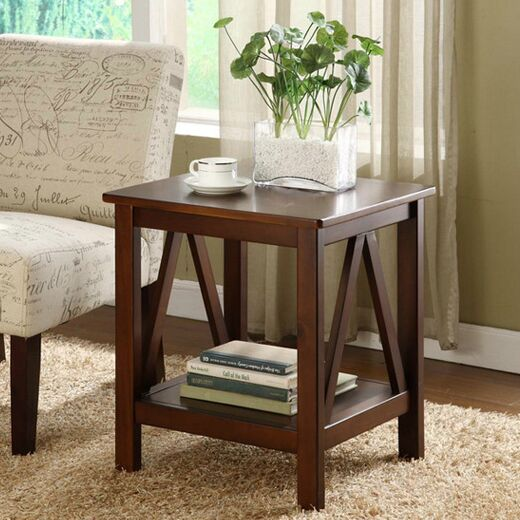 Brassiewood End Table