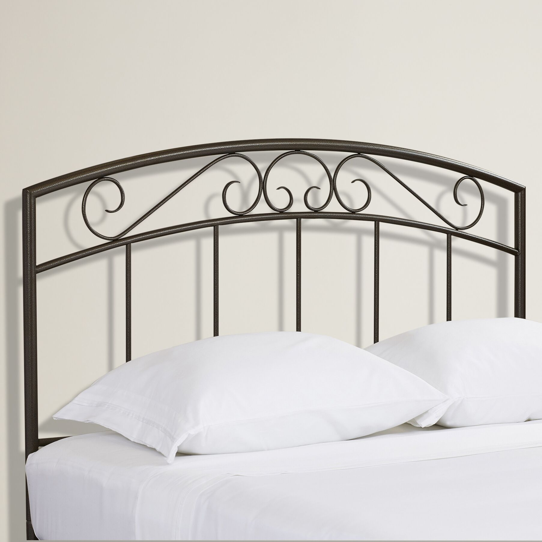 Wendell Open-Frame Headboard Color: Copper Pebble, Size: Full / Queen
