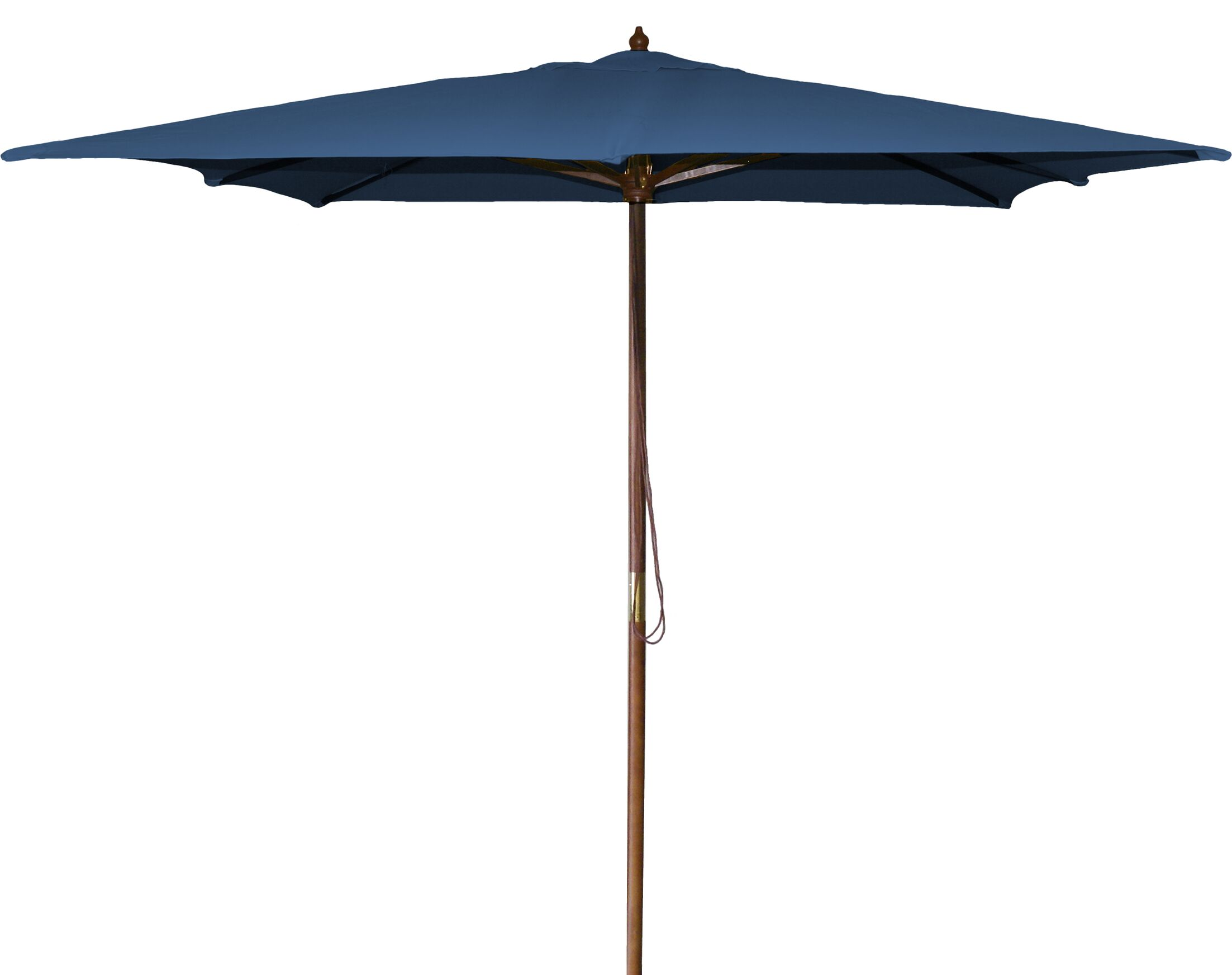 New Haven 8.5' Square Market Umbrella Fabric: Royal