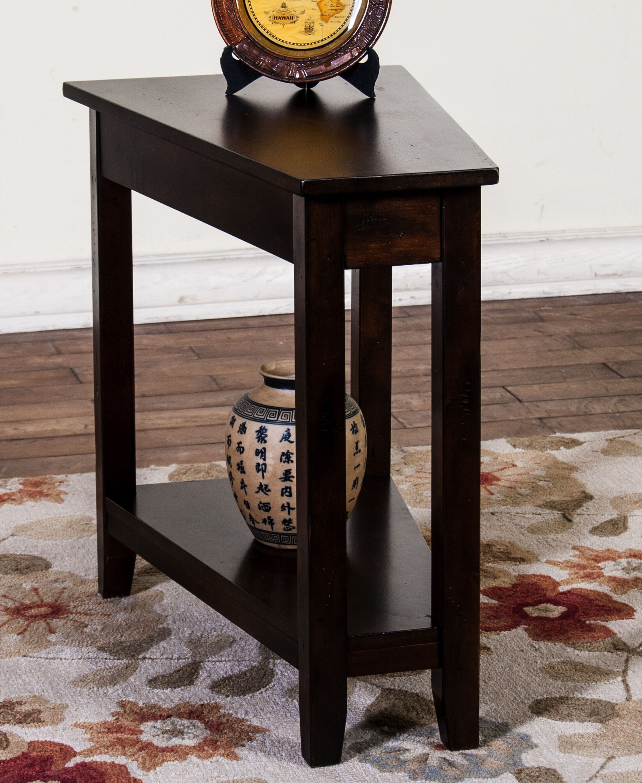 Westford End Table Color: Dark Chocolate