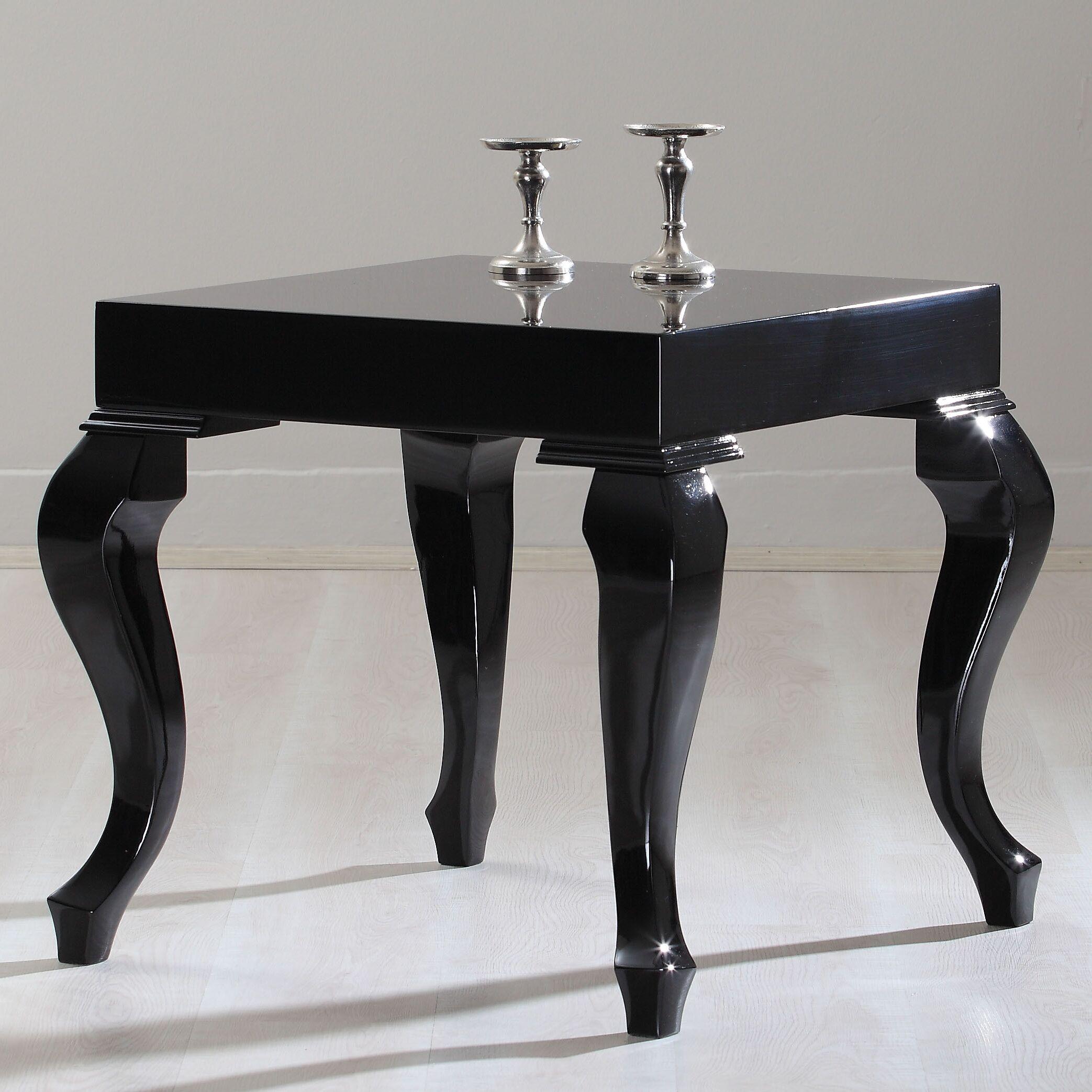 Lukens End Table Color: Black Lacquer