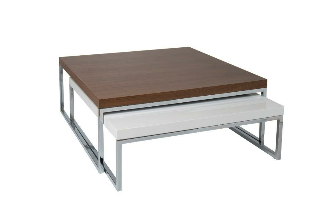 Tweens Coffee Table Color: Walnut- White