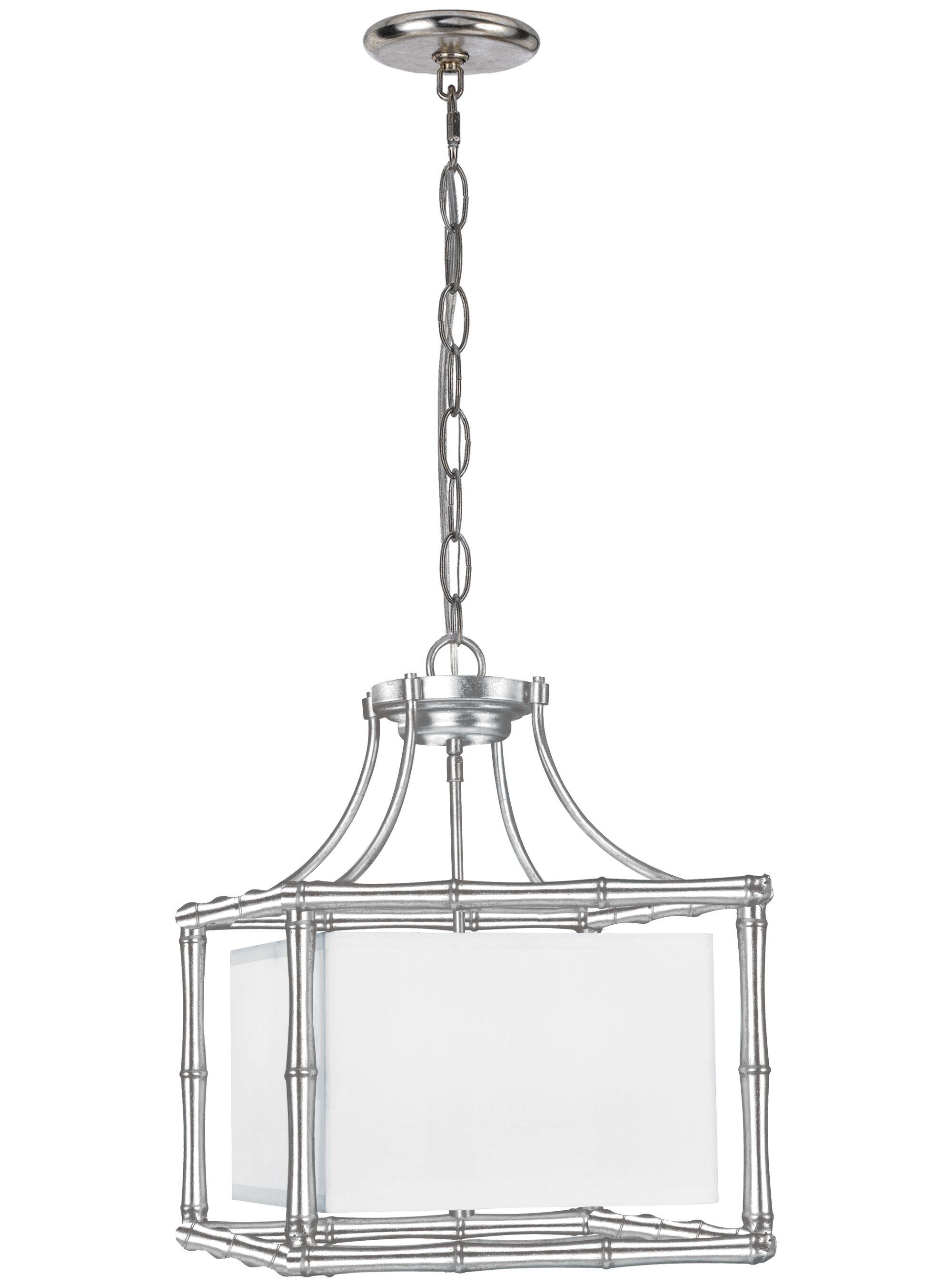 Weir 4-Light Pendant Size: 13
