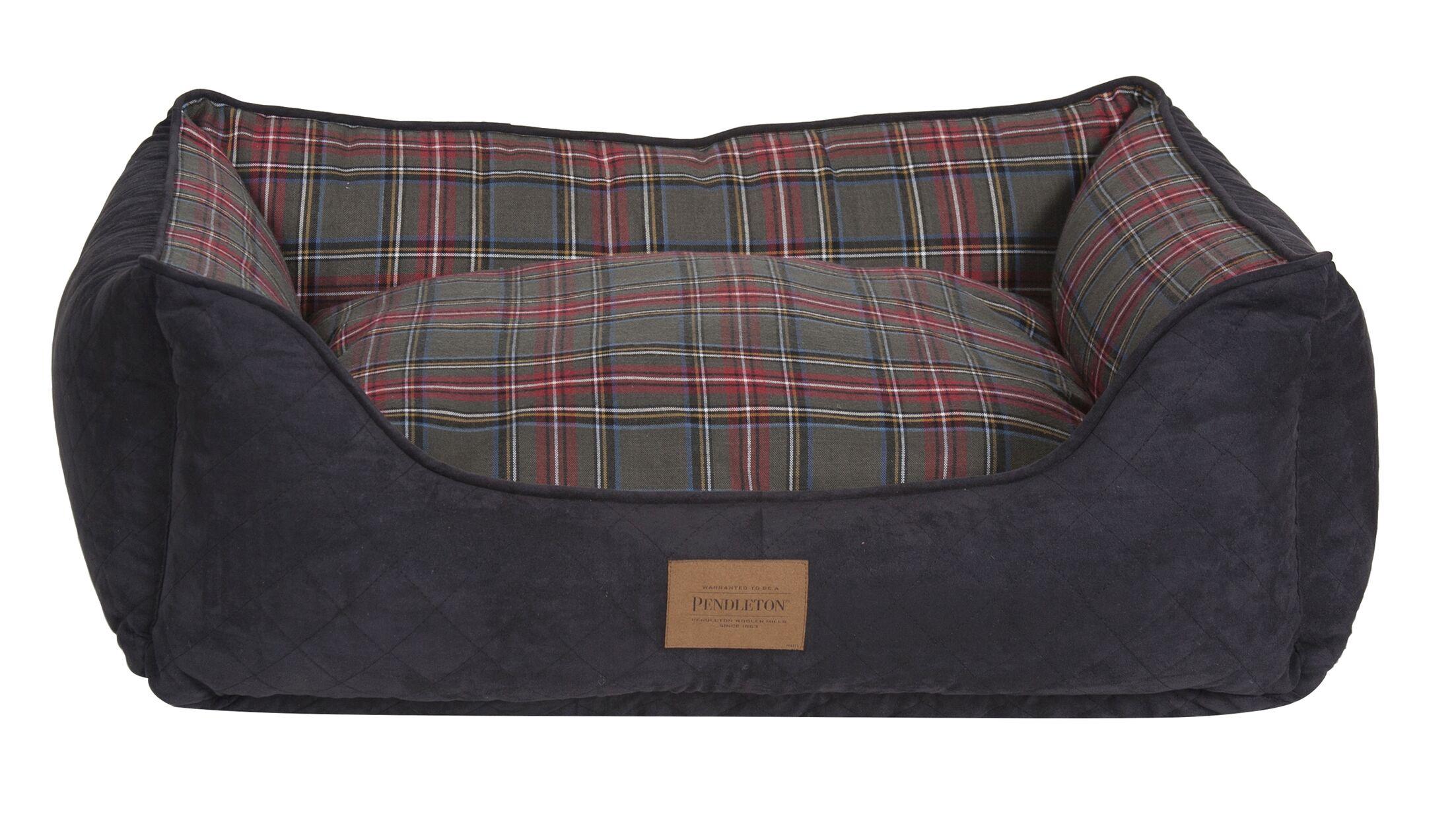 Pendleton Classics Plaid Kuddlers Bolster Size: Medium