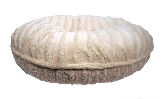 Mischa Faux Mink Dog Bed Size: Medium (36