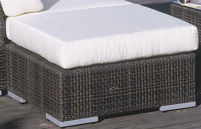 Soho Ottoman with Cushion Fabric: Linen Taupe