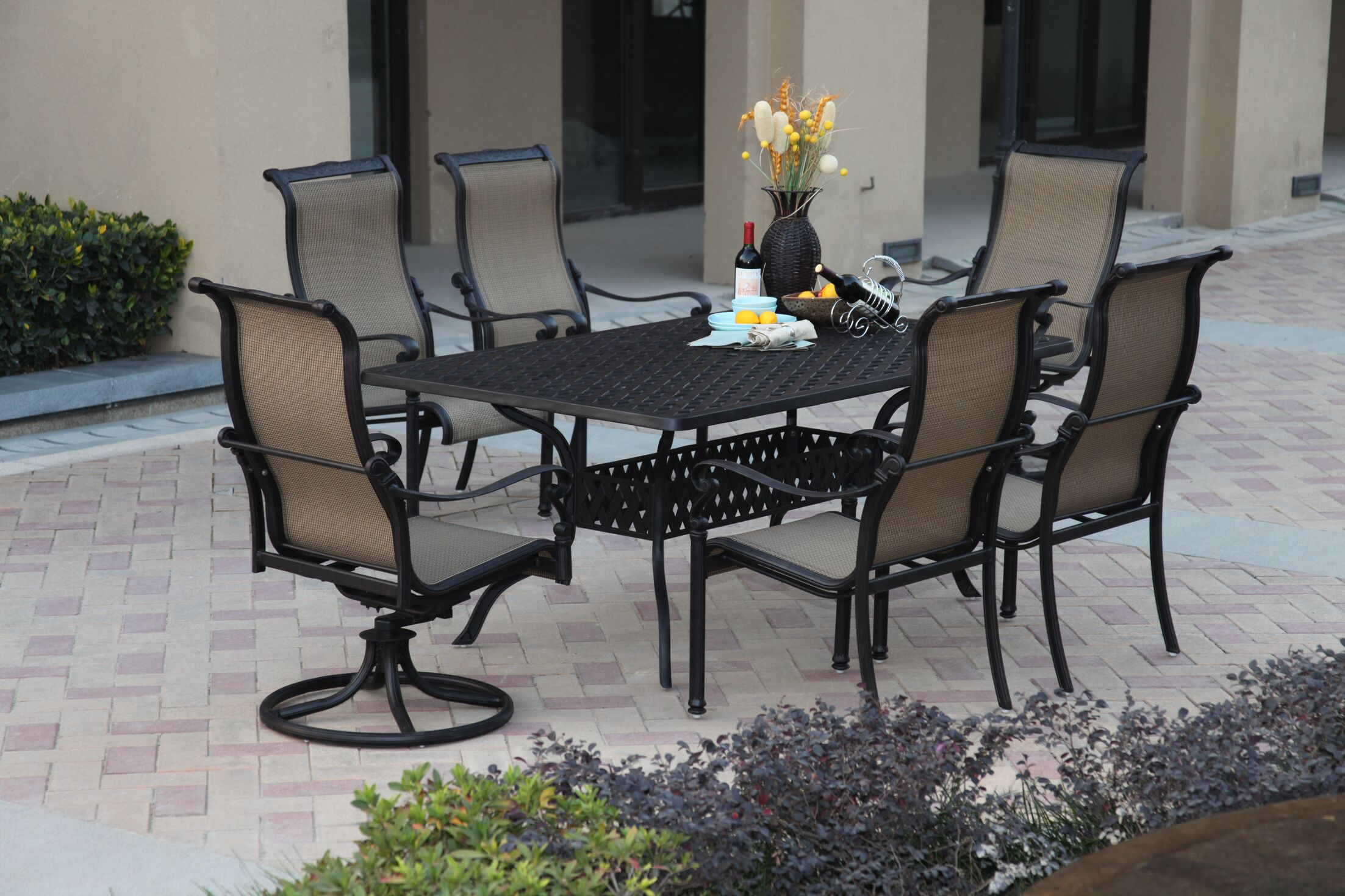 Bagwell 7 Piece Dining Set