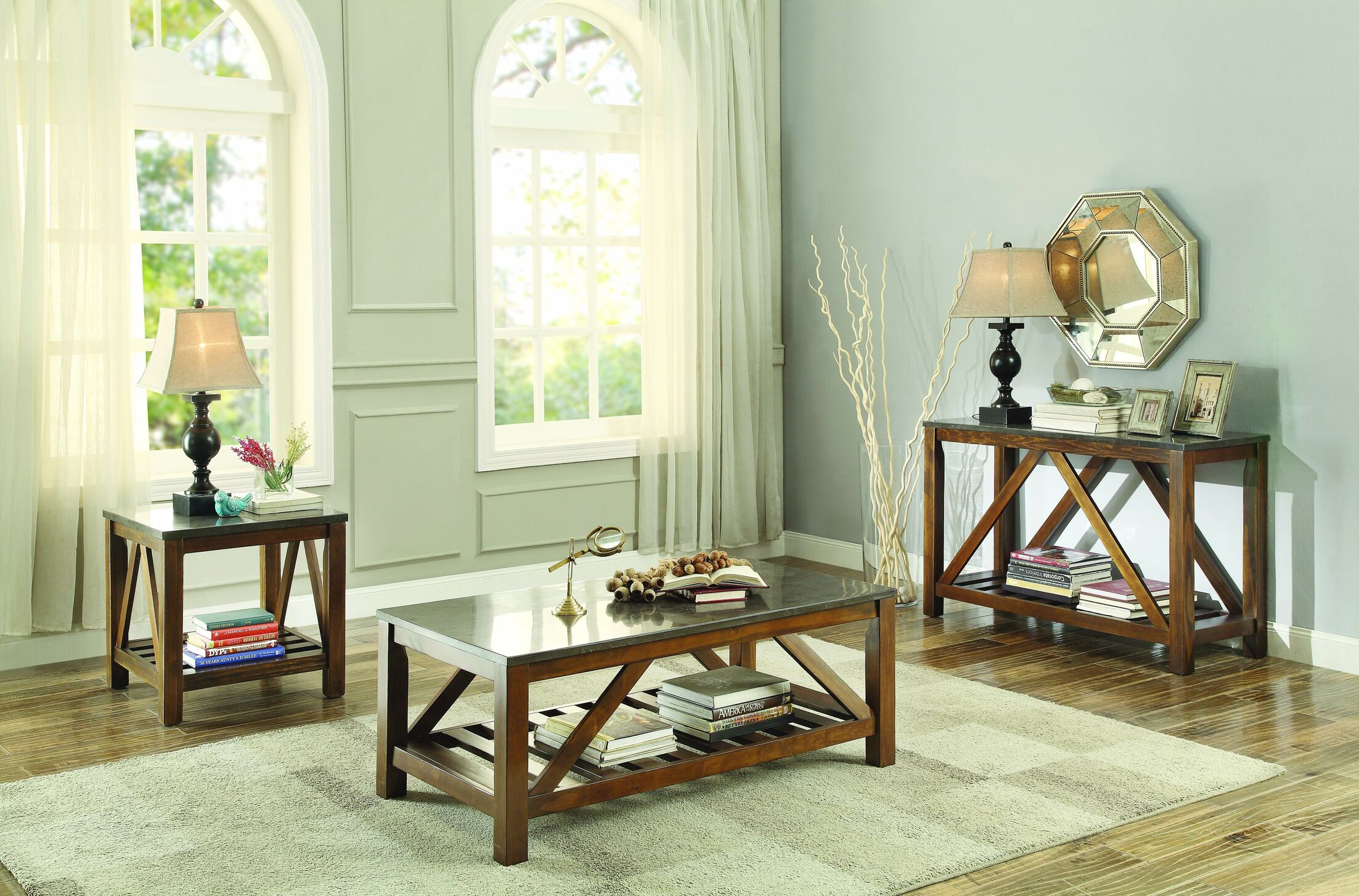 Ashby 3 Piece Coffee Table Set