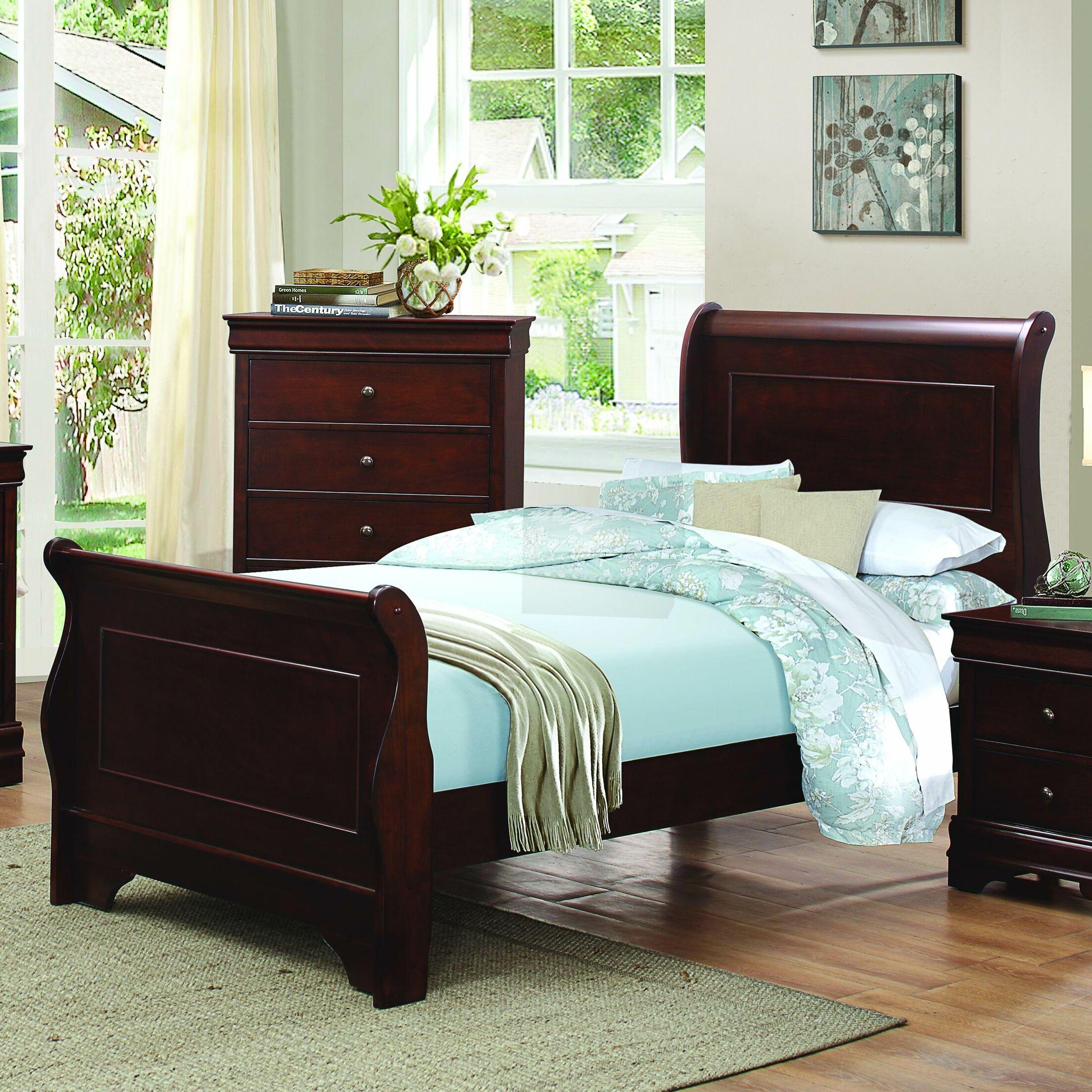 Abbeville Sleigh Bed Size: California King