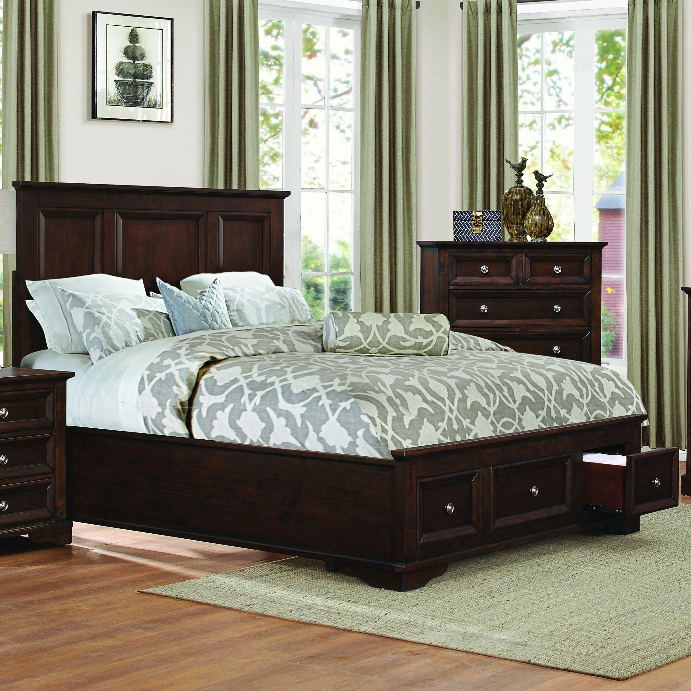 Eunice Storage Platform Bed Size: Queen