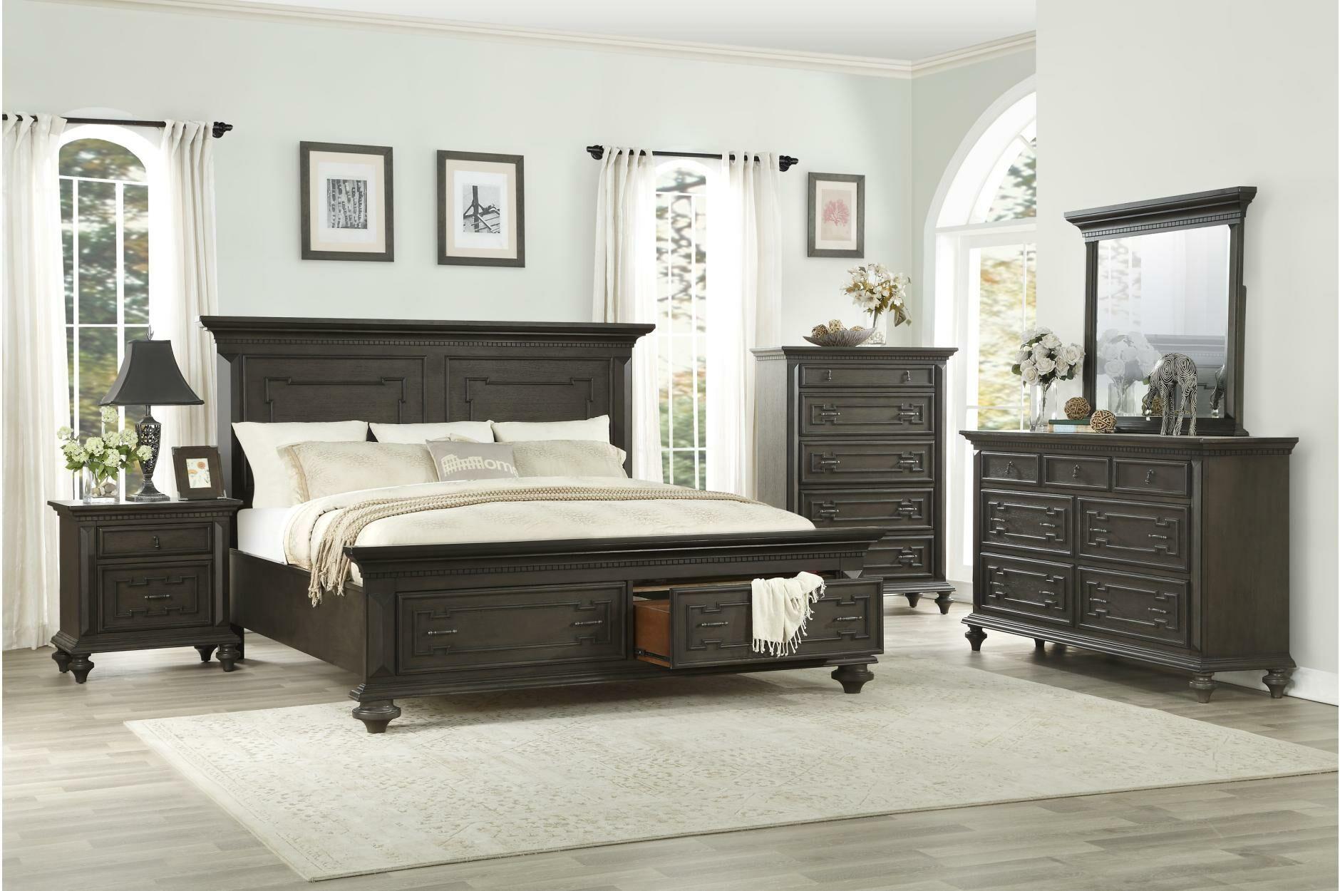 Hednesford Queen Panel Configurable Bedroom Set