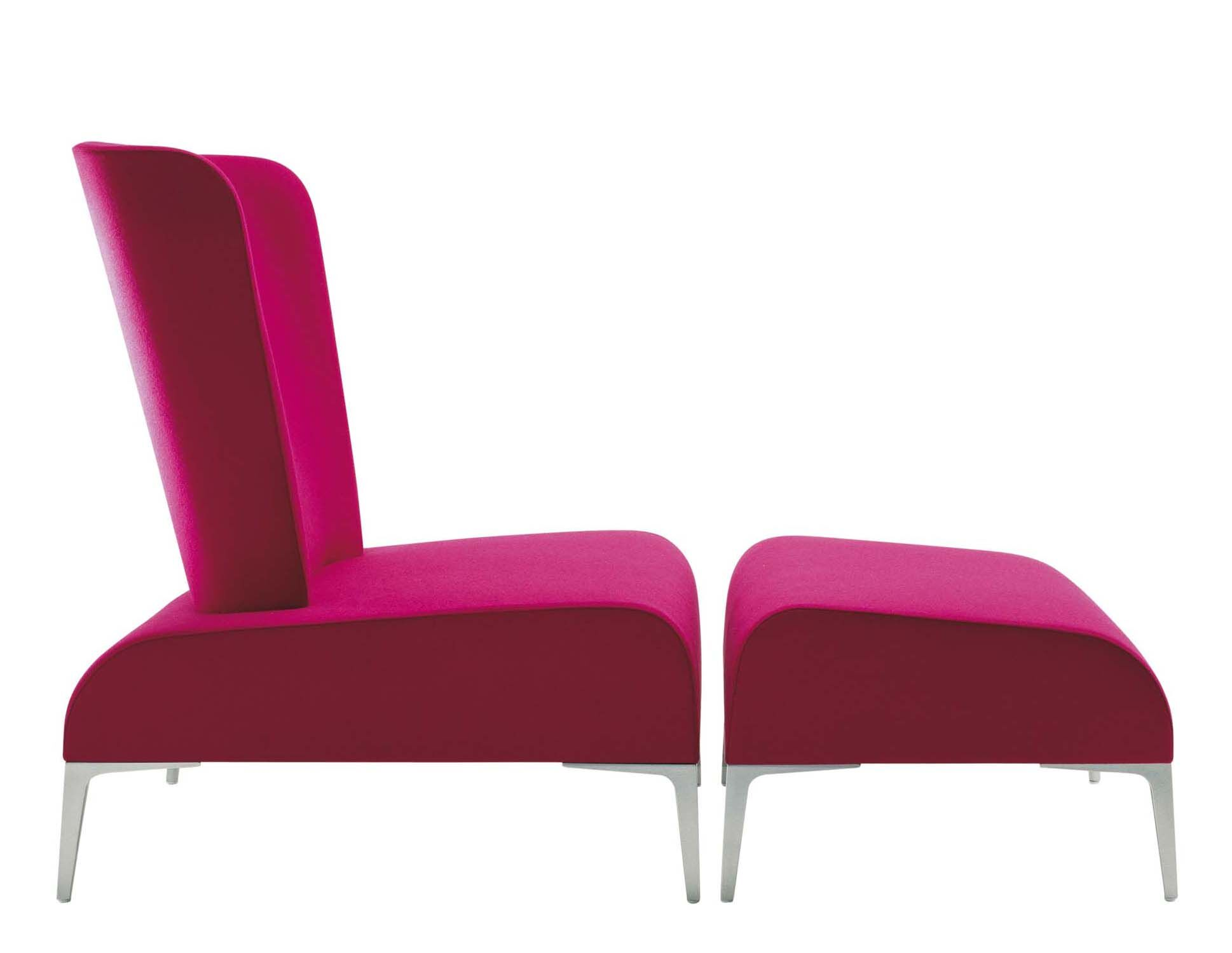 Fi Tall Lounge Chair Upholstery: Momentum Beeline Vinyl Forge, Finish: Powder Coat Aluminum