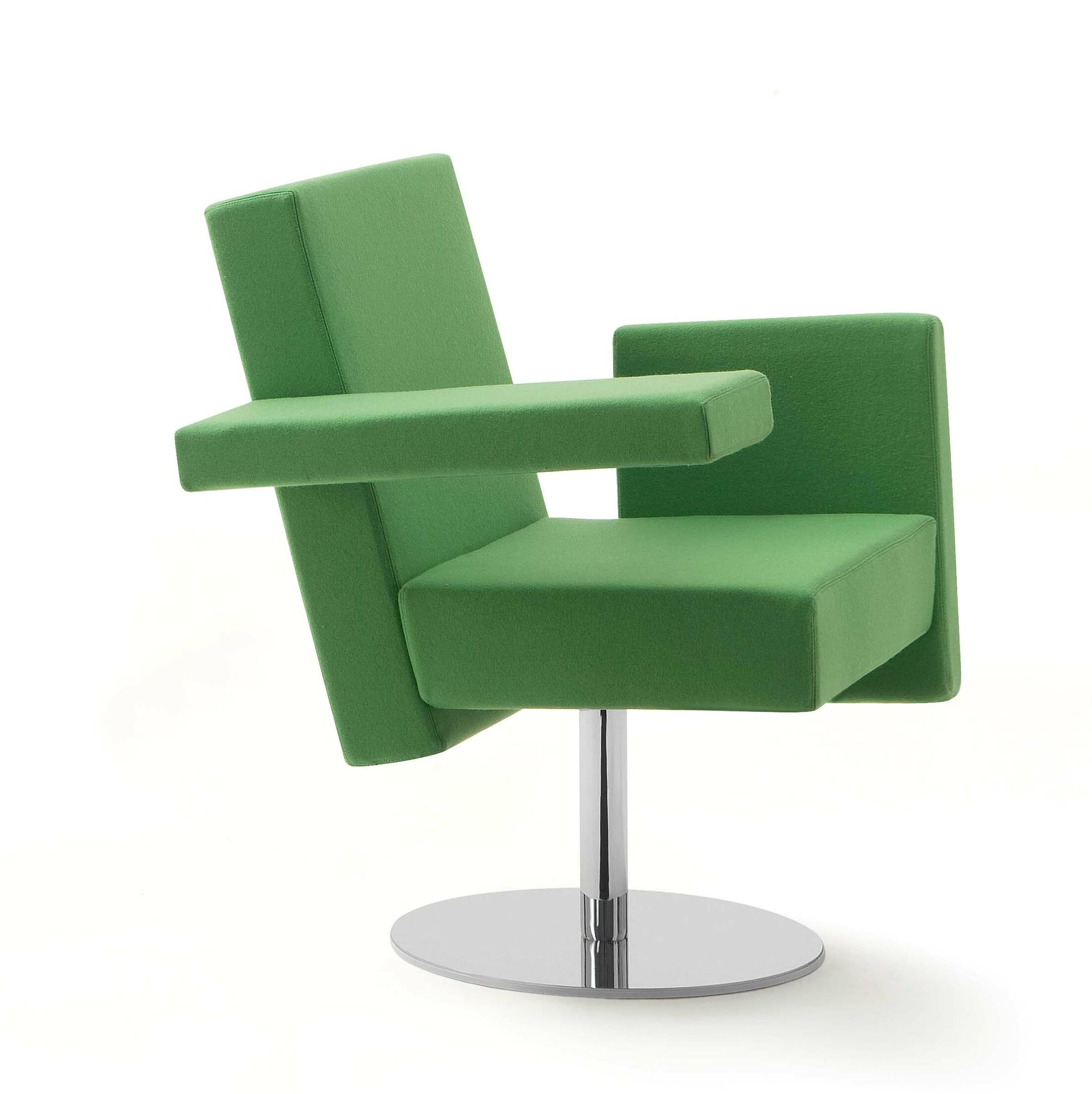 Meet Me Swivel Arm Guest Chair Upholstery: Momentum Fuse Fabric Cress, Finish: White