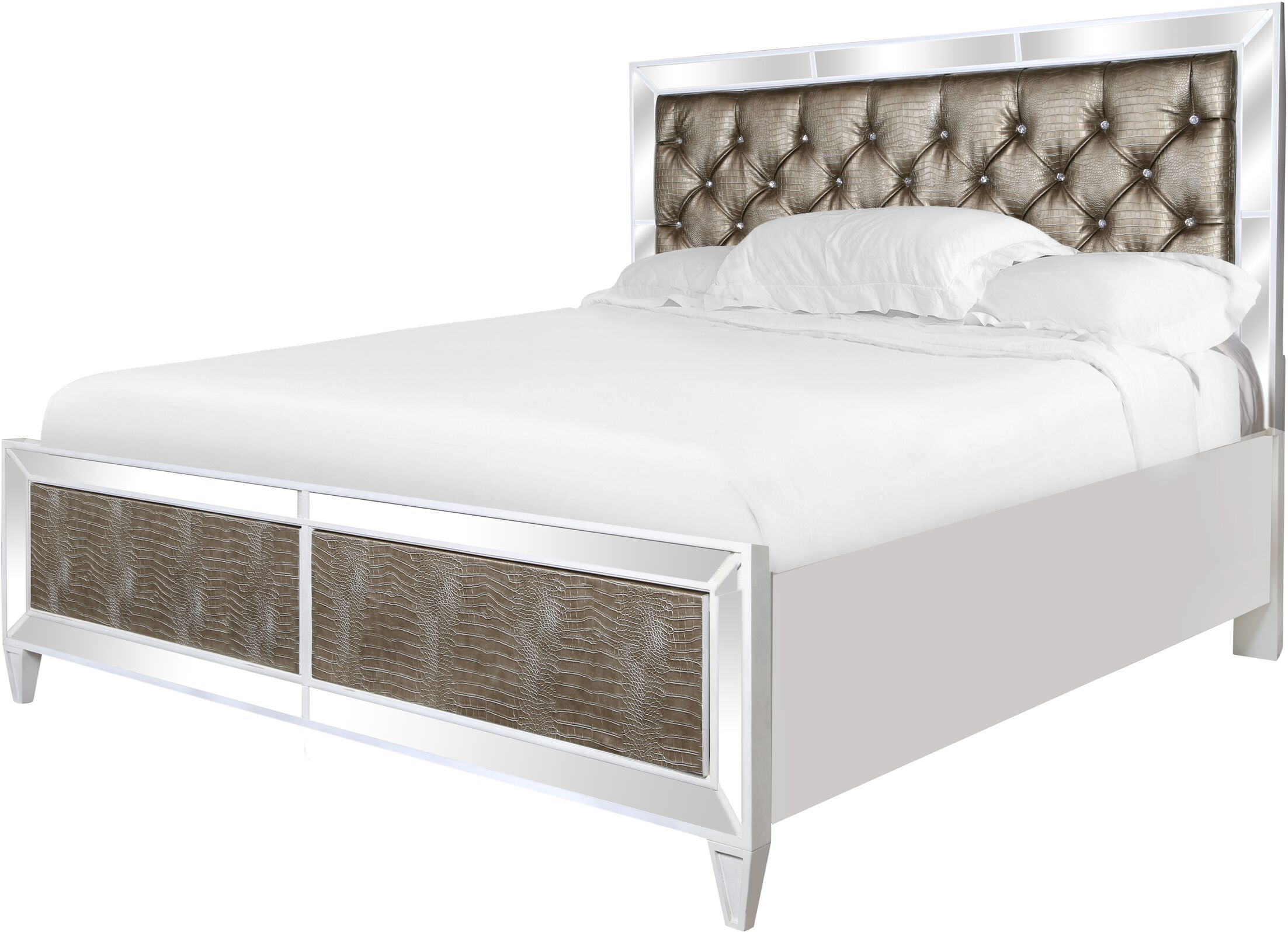 Chesser Panel Bed Size: King