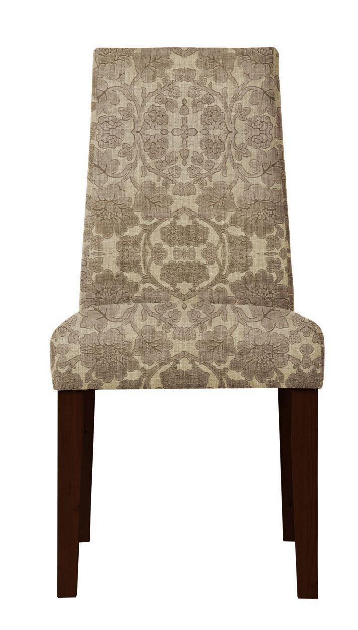 Haddonfield Beige/Brown Side Chair