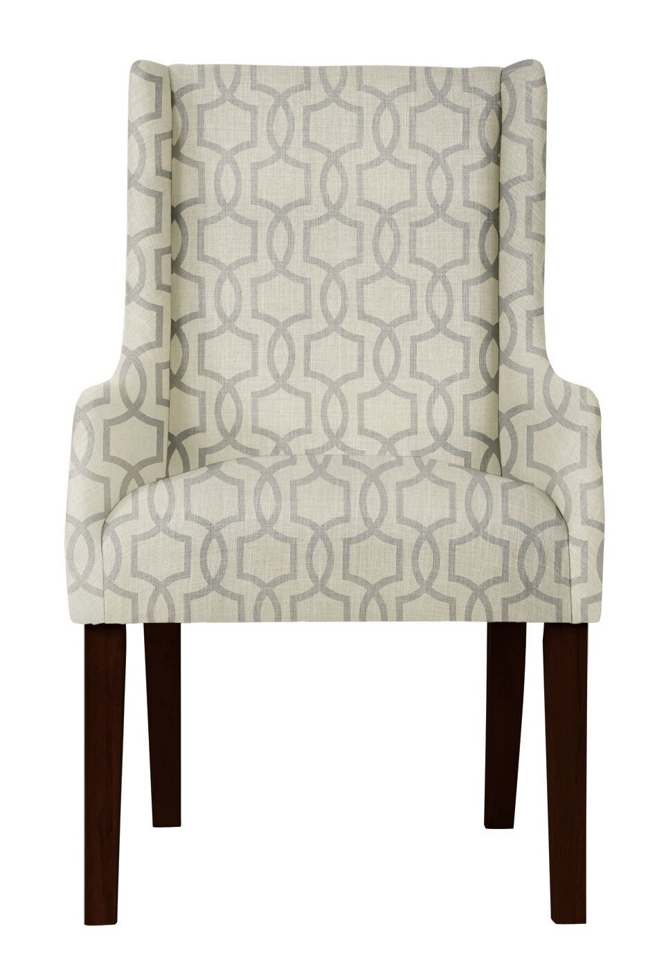Larrabee Beige/Gray Arm Chair