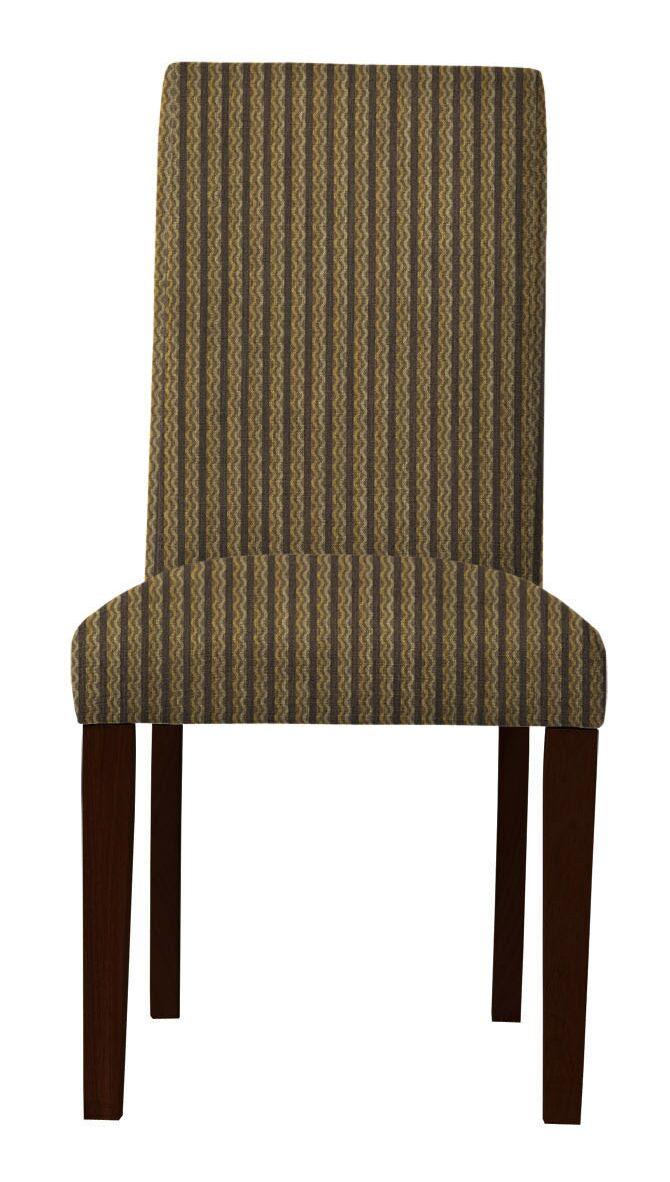 Beachwood Vertical Stripes Parsons Chair
