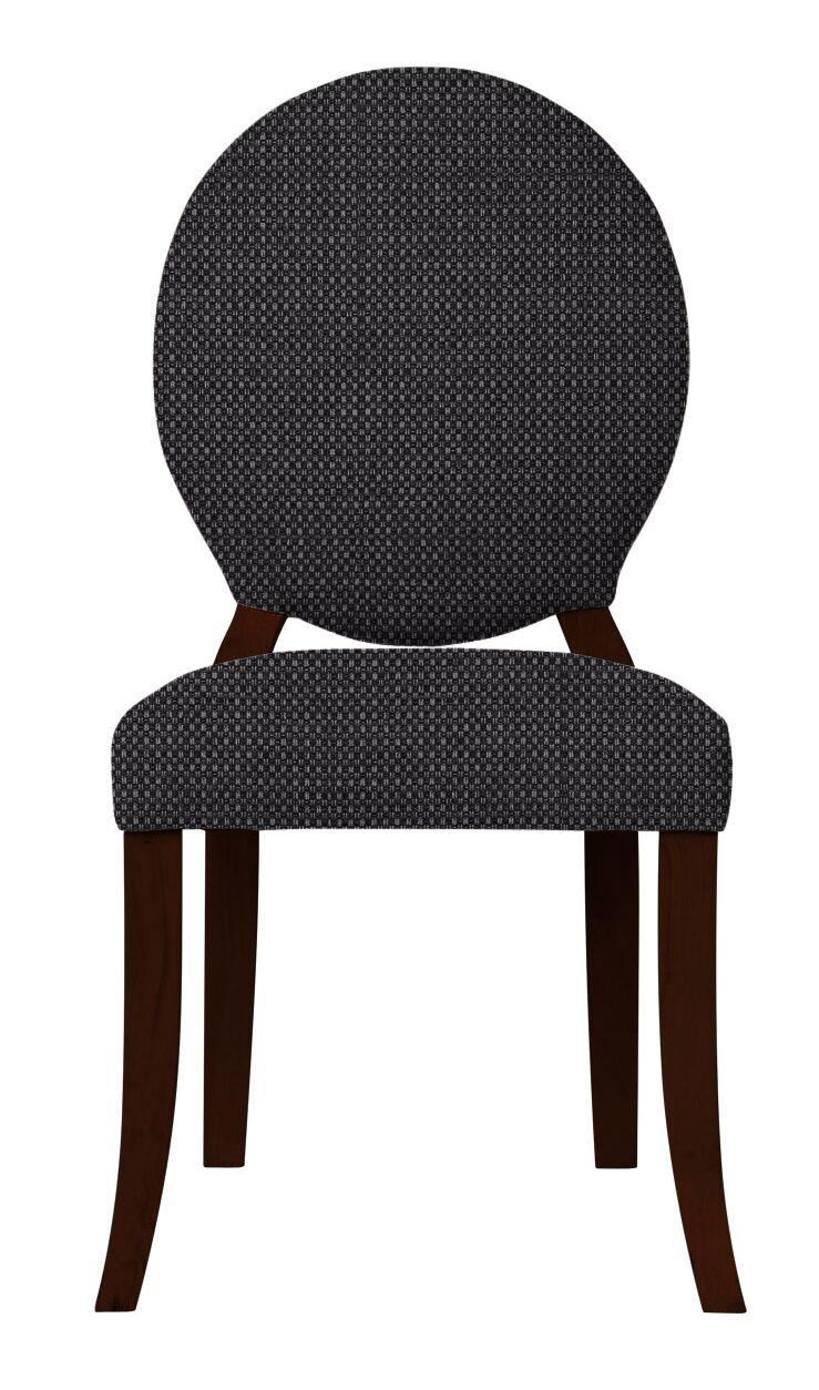 Lashley Wood Legs Side Chair Upholstery: Dark Gray