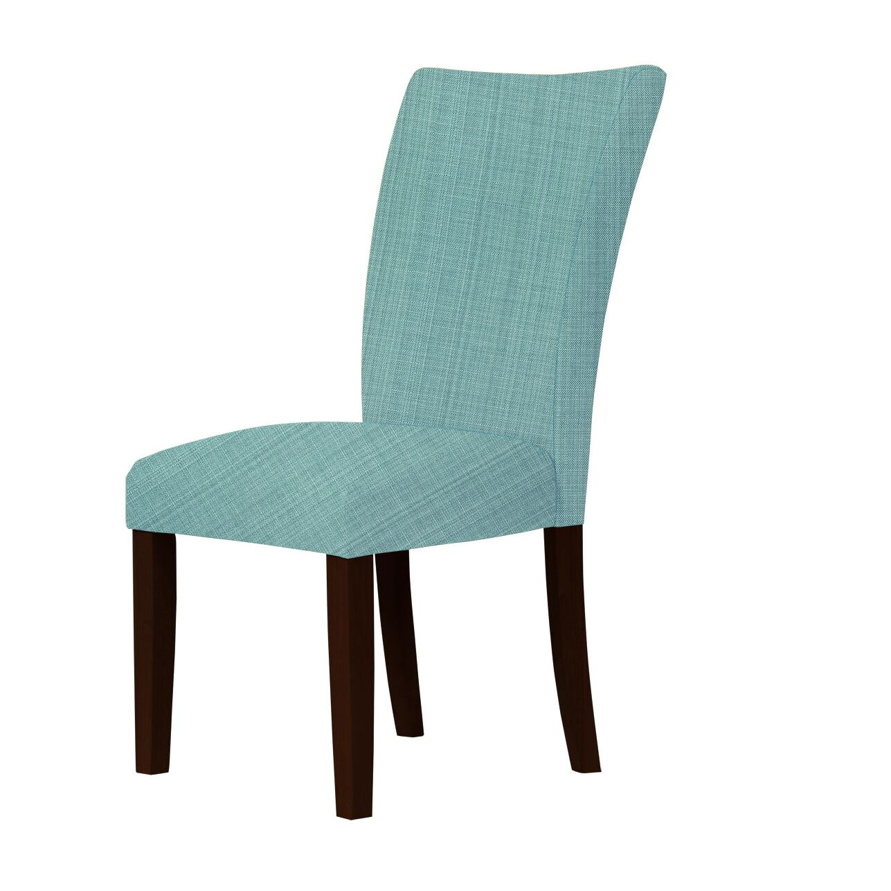 Wallington Parsons Chair Upholstery Color: Green