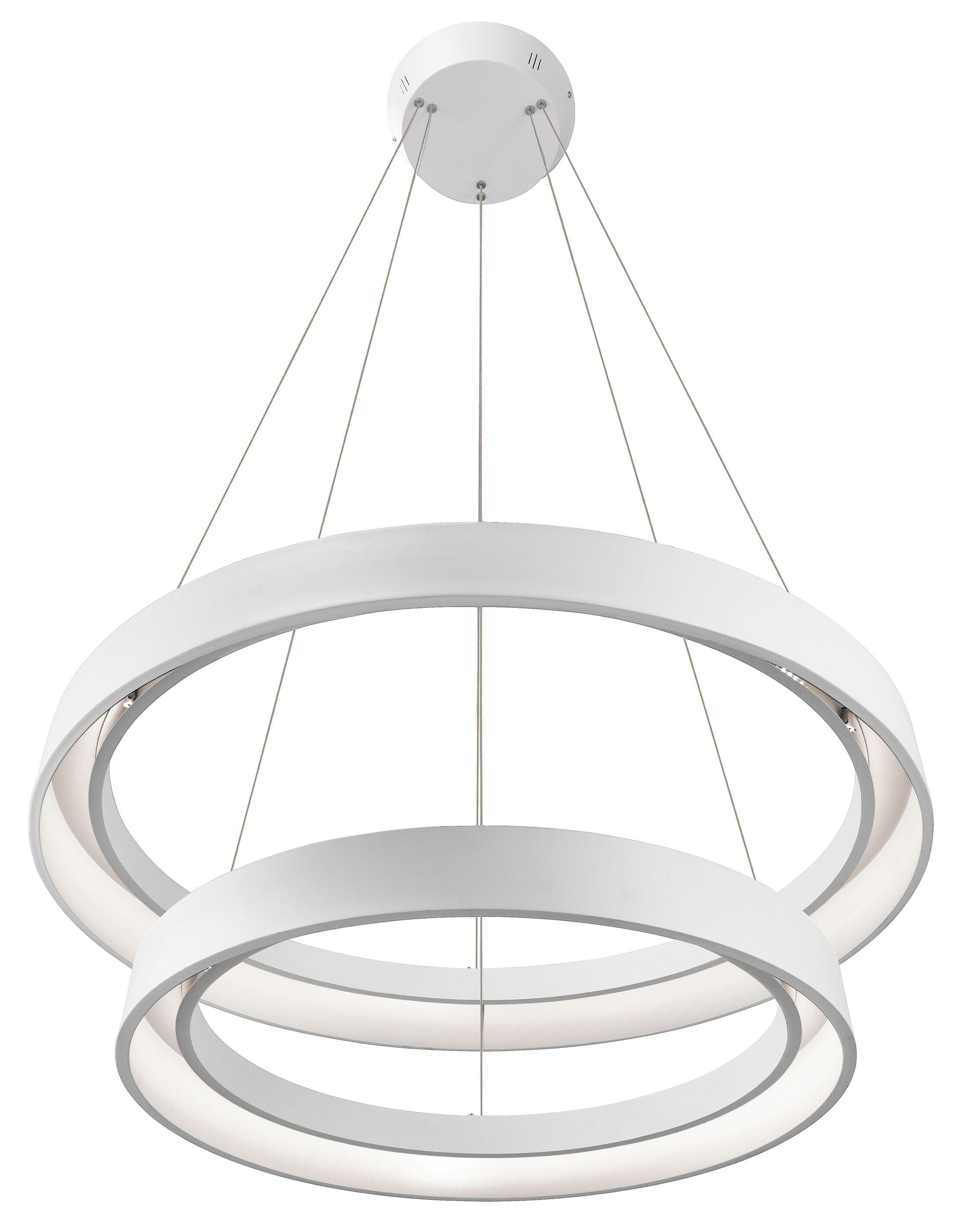 Rhianna 2-Light Pendant Finish: Sand Textured White